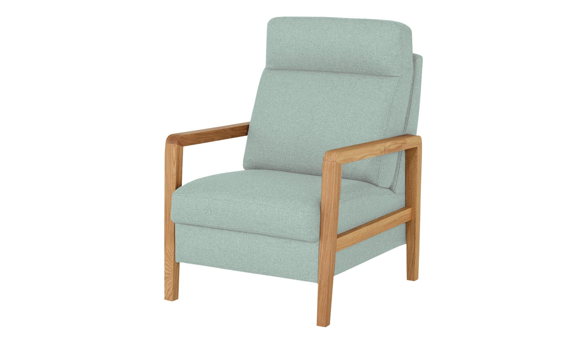 Wohnwert Sessel  Petra ¦ blau ¦ Maße (cm): B: 71 H: 103 T: 89 Polstermöbel > Sessel > Polstersessel - Höffner
