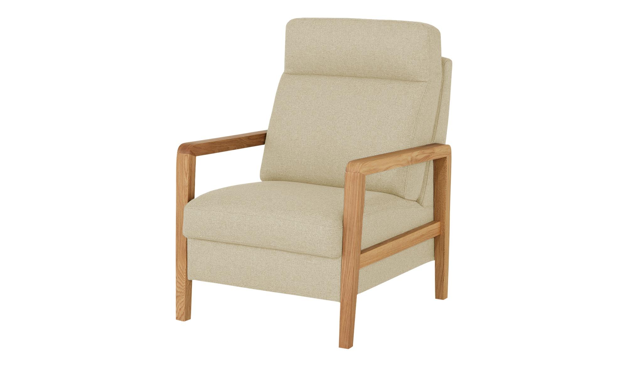Wohnwert Sessel  Petra ¦ beige ¦ Maße (cm): B: 71 H: 103 T: 89 Polstermöbel > Sessel > Polstersessel - Höffner