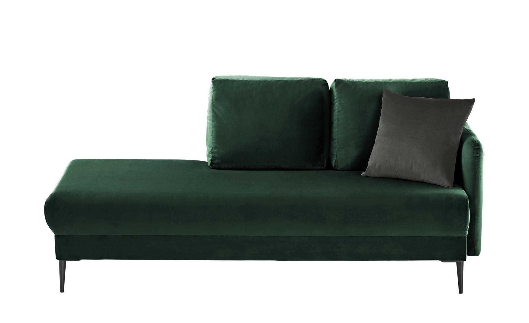 smart Ottomane  Olianna ¦ grün ¦ Maße (cm): B: 190 H: 90 T: 88 Polstermöbel > Sofas > Einzelsofas - Höffner