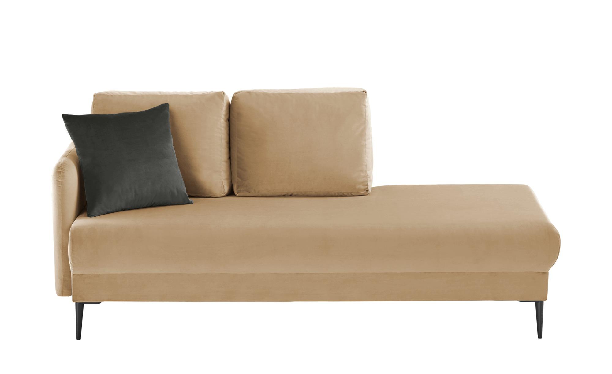 smart Ottomane  Olianna ¦ beige ¦ Maße (cm): B: 190 H: 90 T: 88 Polstermöbel > Sofas > Einzelsofas - Höffner