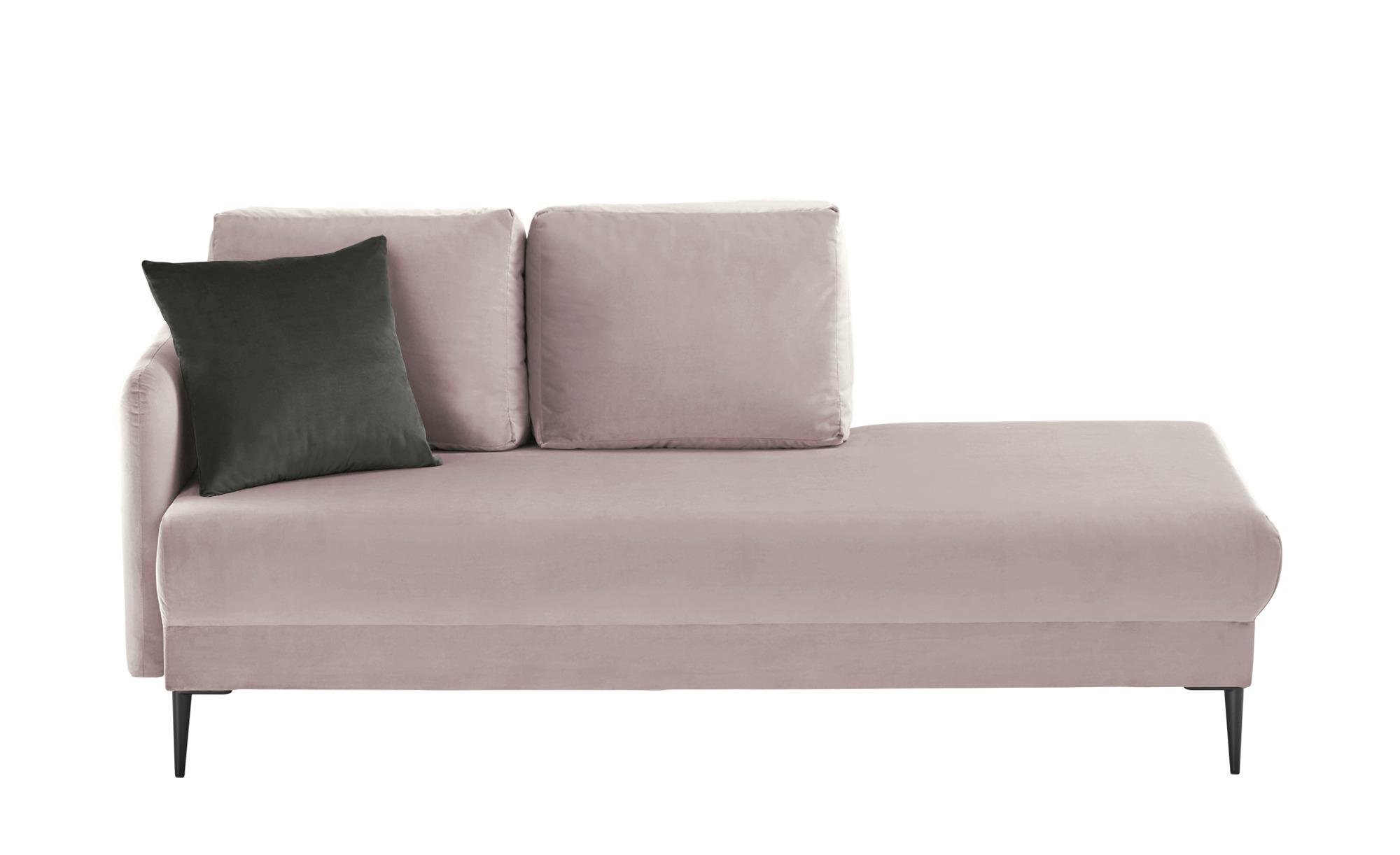 smart Ottomane  Olianna ¦ rosa/pink ¦ Maße (cm): B: 190 H: 90 T: 88 Polstermöbel > Sofas > Einzelsofas - Höffner