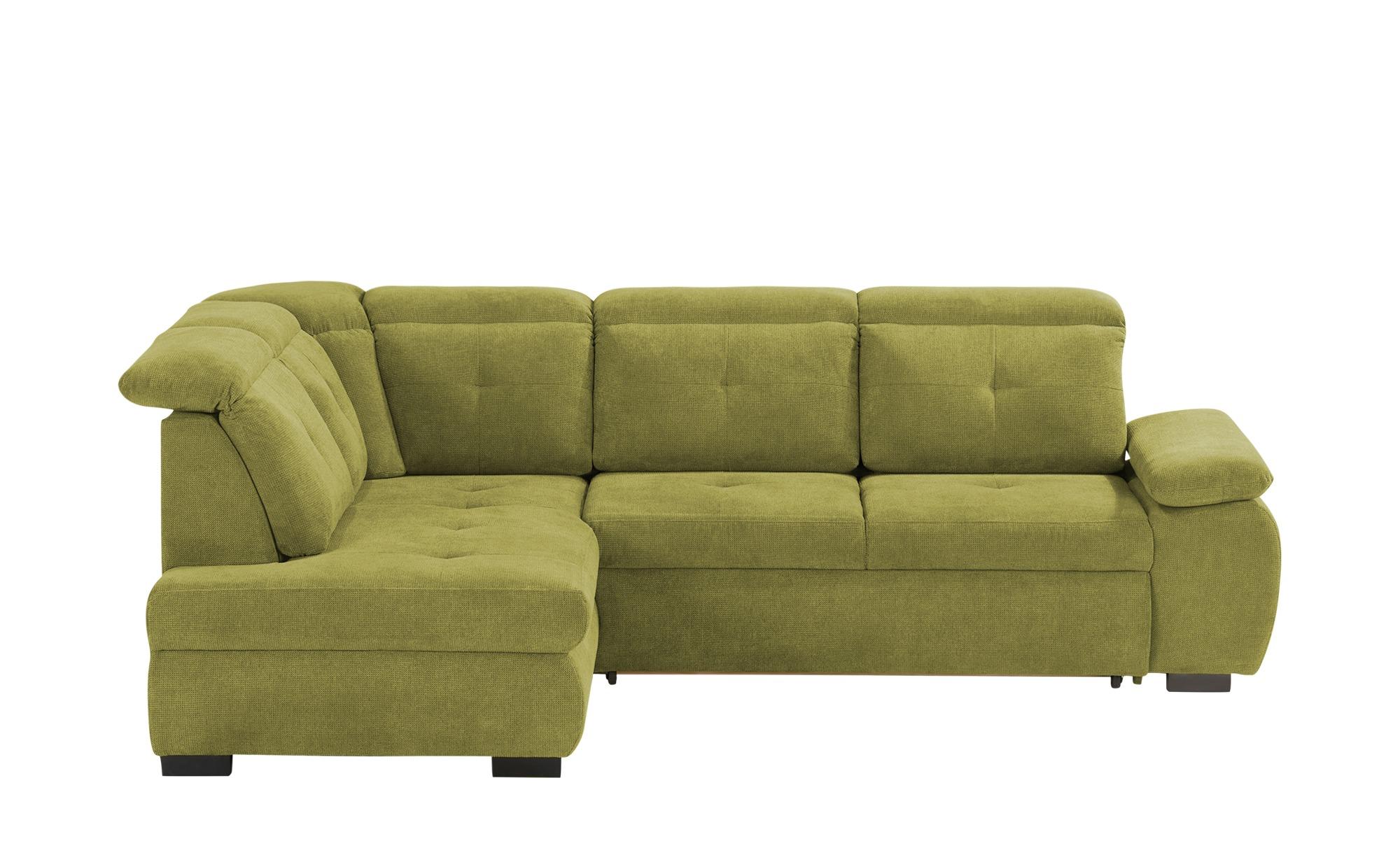 Ecksofa  Tamara ¦ grün ¦ Maße (cm): H: 90 Polstermöbel > Sofas > Ecksofas - Höffner