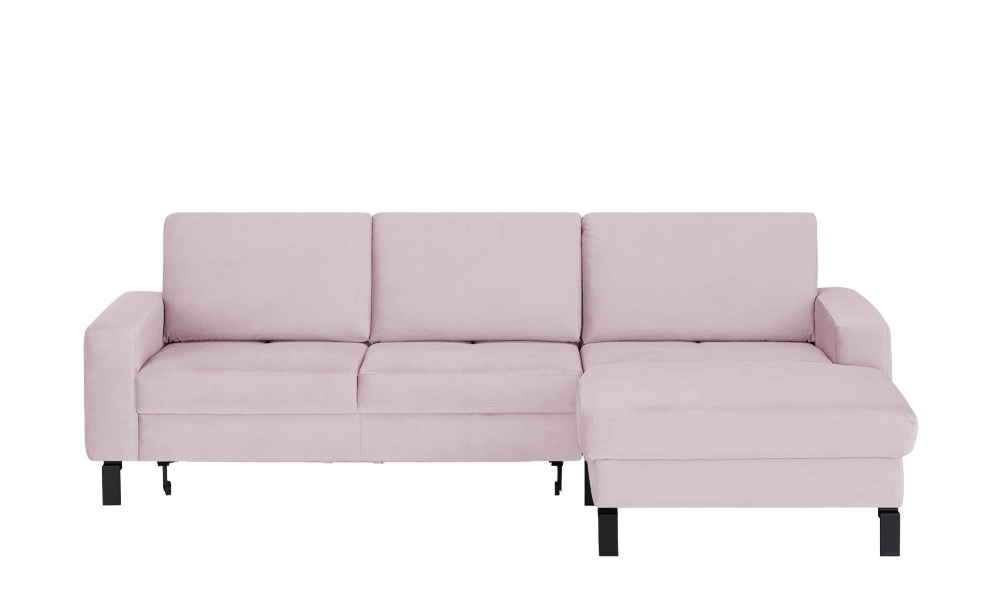 Ecksofa  Coline Move ¦ rosa/pink ¦ Maße (cm): H: 85 Polstermöbel > Sofas > Ecksofas - Höffner