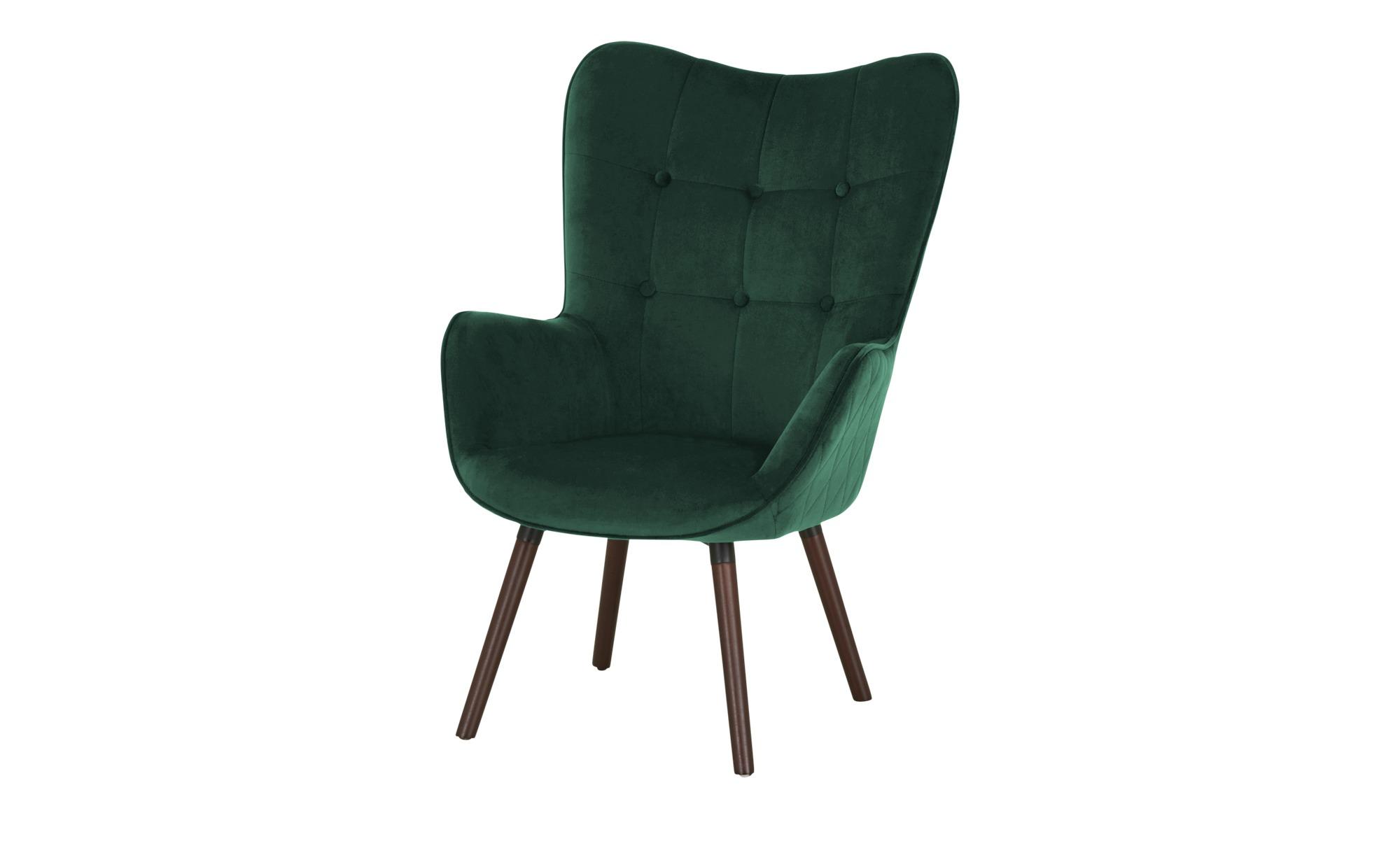 Playboy Sessel  Bridget ¦ grün ¦ Maße (cm): B: 68 H: 99 T: 77 Polstermöbel > Sessel > Ohrensessel - Höffner