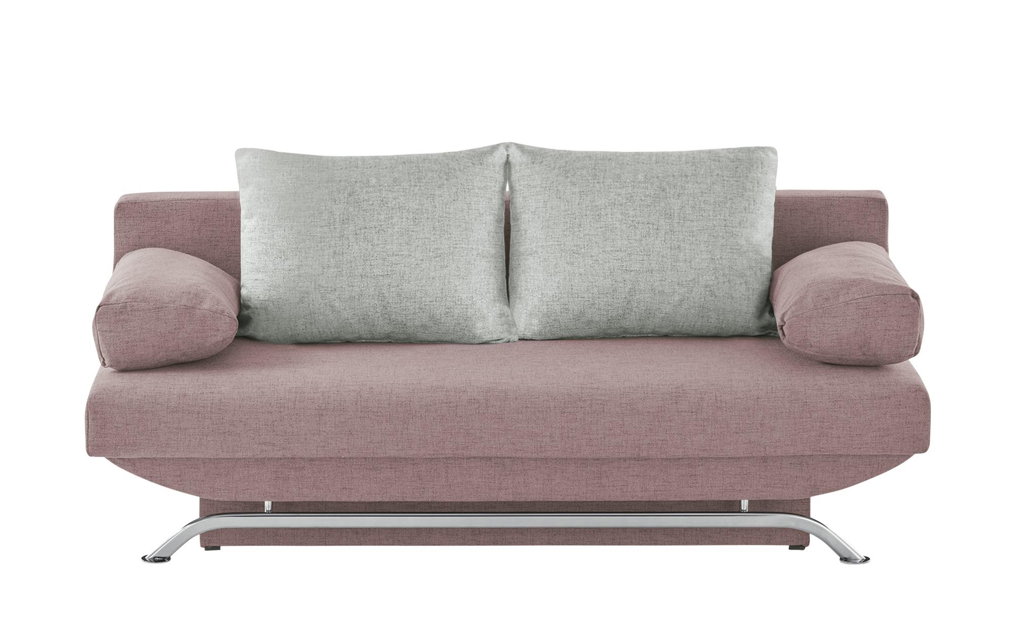 smart Schlafsofa  Grit ¦ rosa/pink ¦ Maße (cm): B: 195 H: 76 T: 91 Polstermöbel > Sofas > Einzelsofas - Höffner