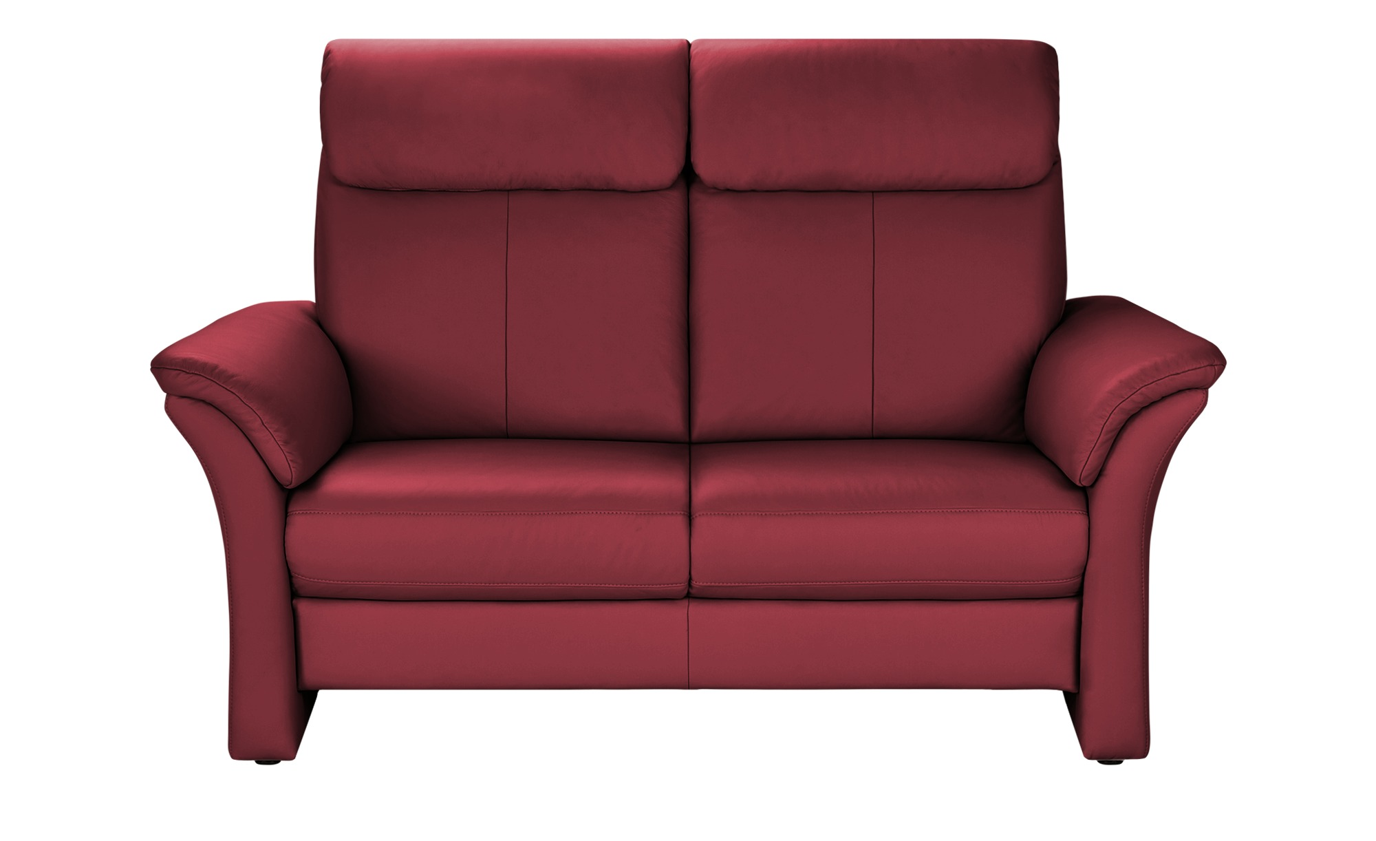 Wohnwert Sofa 2-Sitzer  Lena ¦ rot ¦ Maße (cm): B: 168 H: 107 T: 97 Polstermöbel > Sofas > 2-Sitzer - Höffner