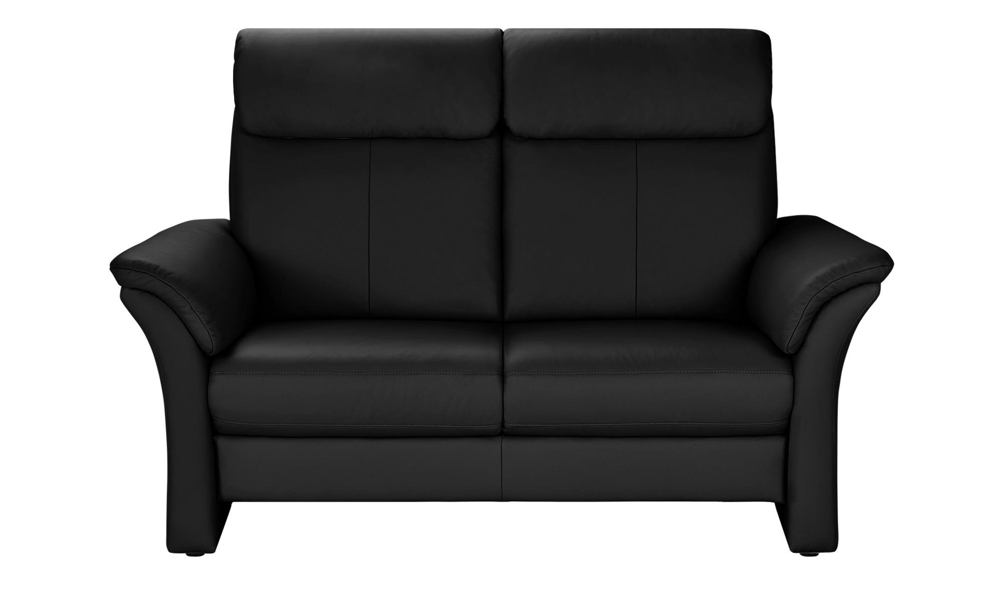 Wohnwert Sofa 2-Sitzer  Lena ¦ schwarz ¦ Maße (cm): B: 168 H: 107 T: 97 Polstermöbel > Sofas > 2-Sitzer - Höffner