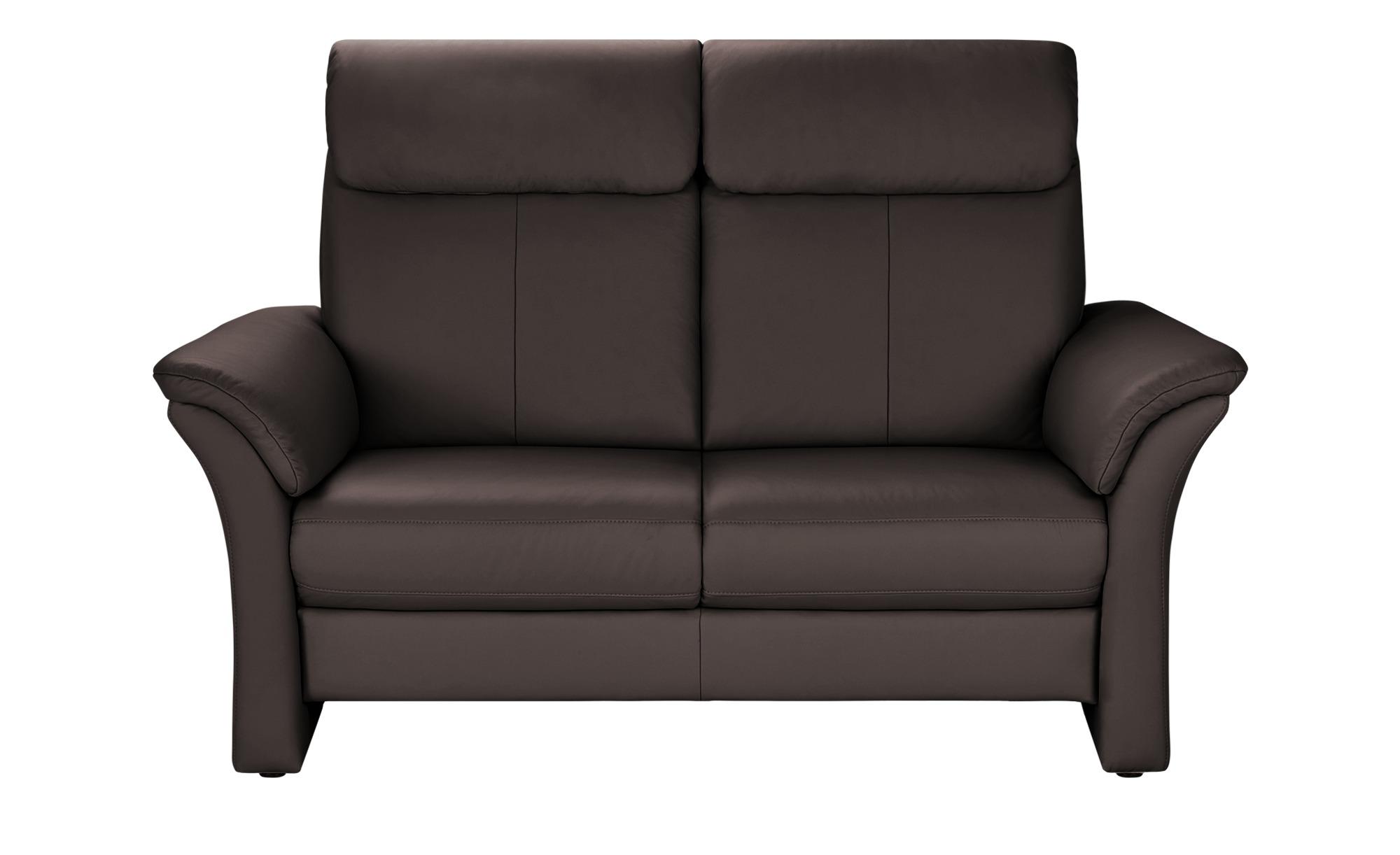 Wohnwert Sofa 2-Sitzer  Lena ¦ braun ¦ Maße (cm): B: 168 H: 107 T: 97 Polstermöbel > Sofas > 2-Sitzer - Höffner