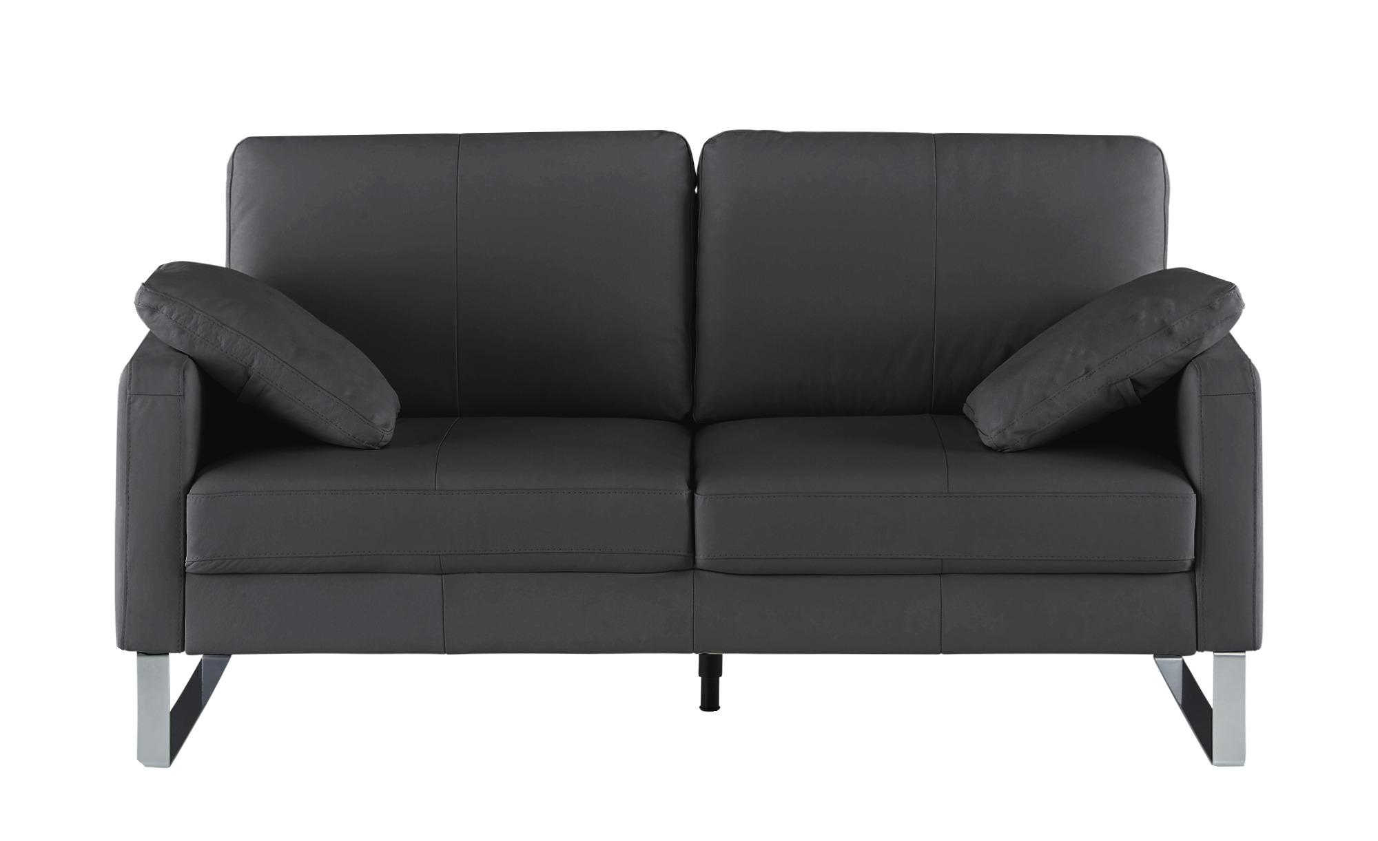 Einzelsofa  Rajaa ¦ schwarz ¦ Maße (cm): B: 174 H: 90 T: 93 Polstermöbel > Sofas > 2-Sitzer - Höffner