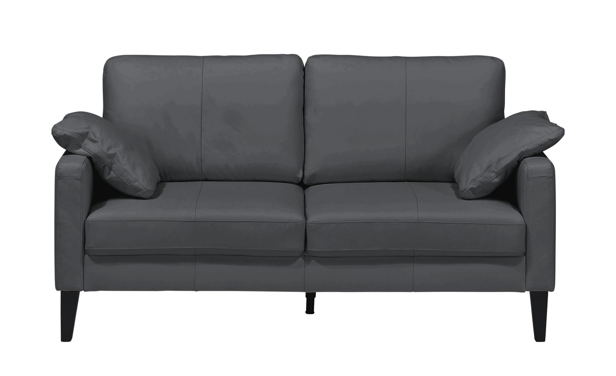Einzelsofa  Oralia ¦ schwarz ¦ Maße (cm): B: 174 H: 90 T: 93 Polstermöbel > Sofas > 2-Sitzer - Höffner