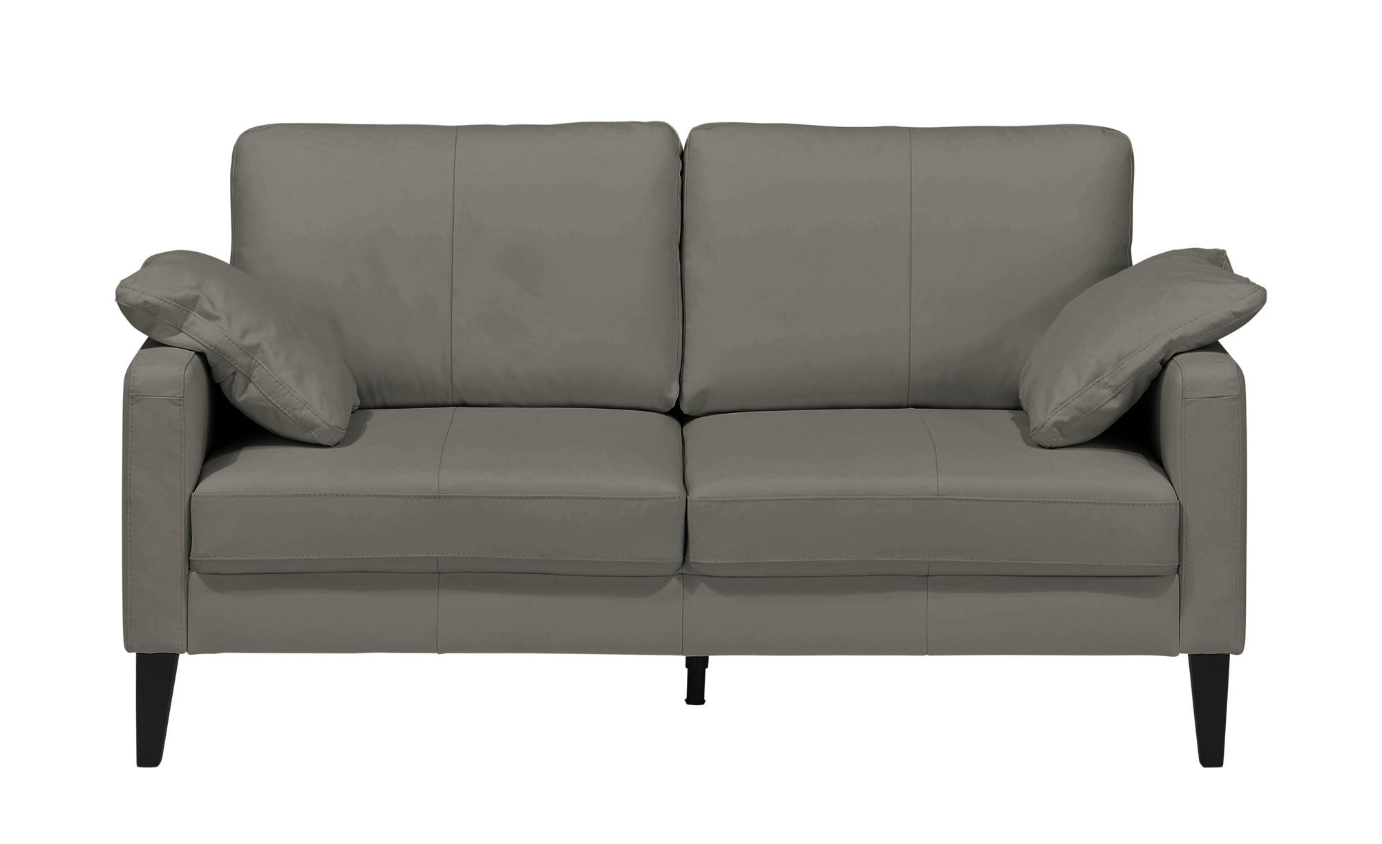 Einzelsofa  Oralia ¦ grau ¦ Maße (cm): B: 174 H: 90 T: 93 Polstermöbel > Sofas > 2-Sitzer - Höffner