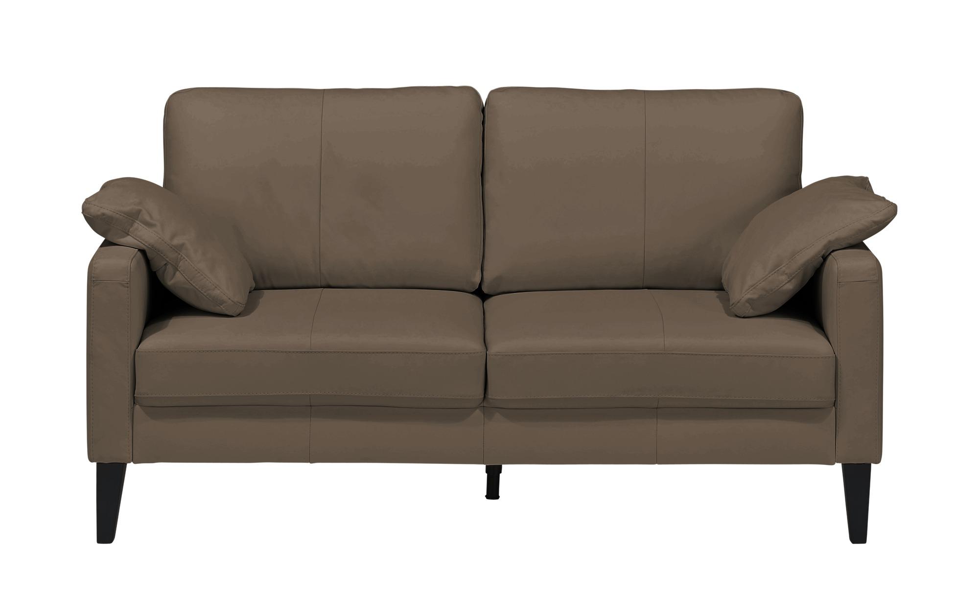 Einzelsofa  Oralia ¦ braun ¦ Maße (cm): B: 174 H: 90 T: 93 Polstermöbel > Sofas > 2-Sitzer - Höffner