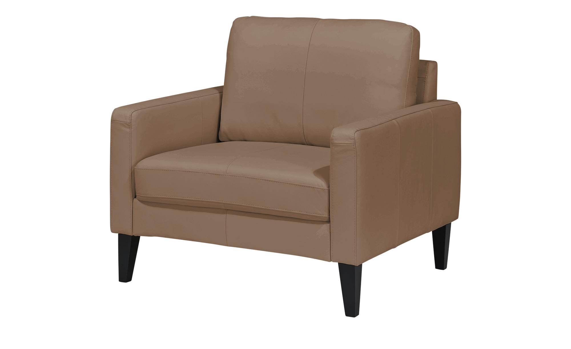 Sessel  Oralia ¦ braun ¦ Maße (cm): B: 100 H: 90 T: 93 Polstermöbel > Sessel > Ledersessel - Höffner
