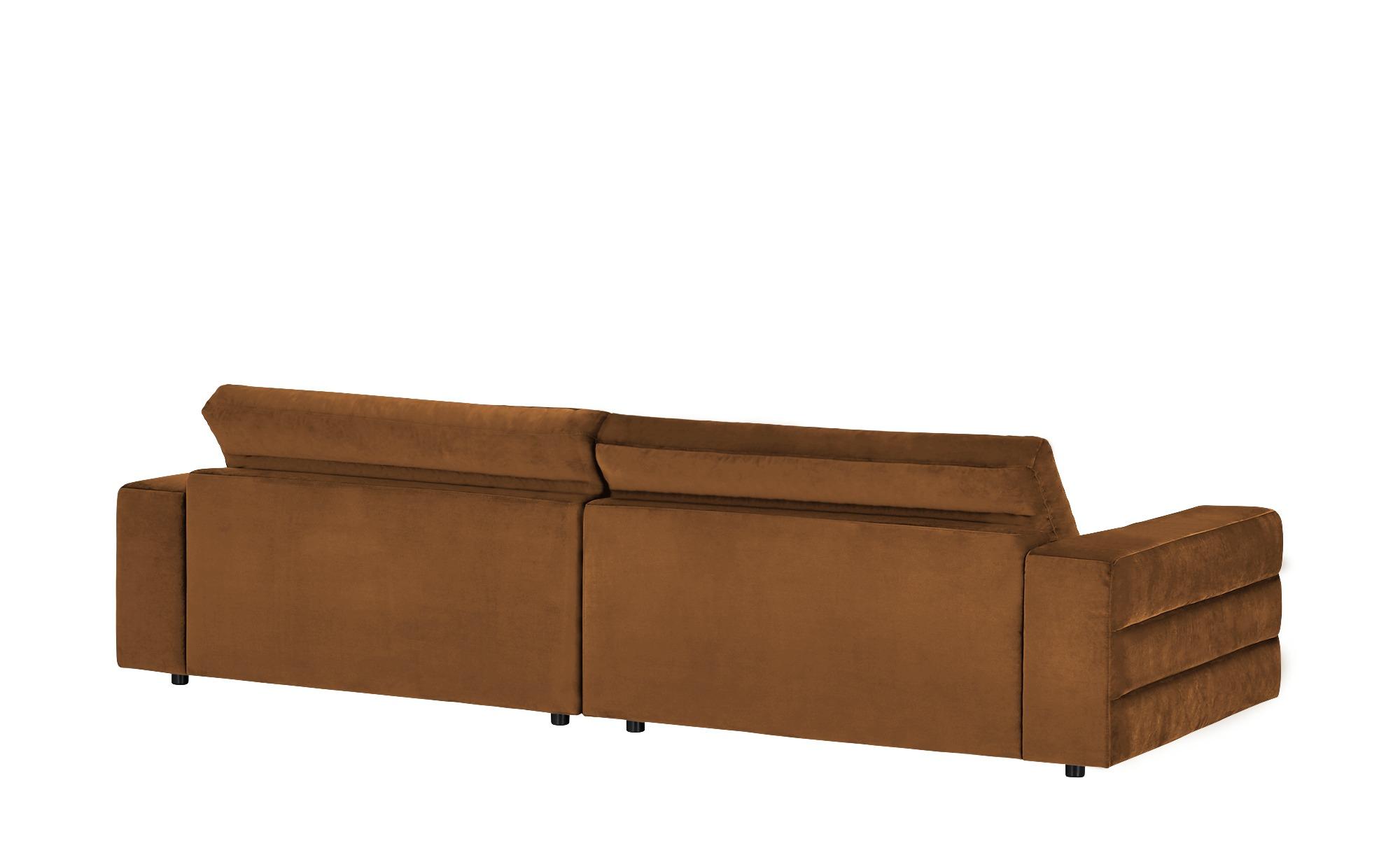 pop Big Sofa  Scarlatti ¦ braun ¦ Maße (cm): B: 296 H: 83 T: 125 Polstermöbel > Sofas > Big-Sofas - Höffner