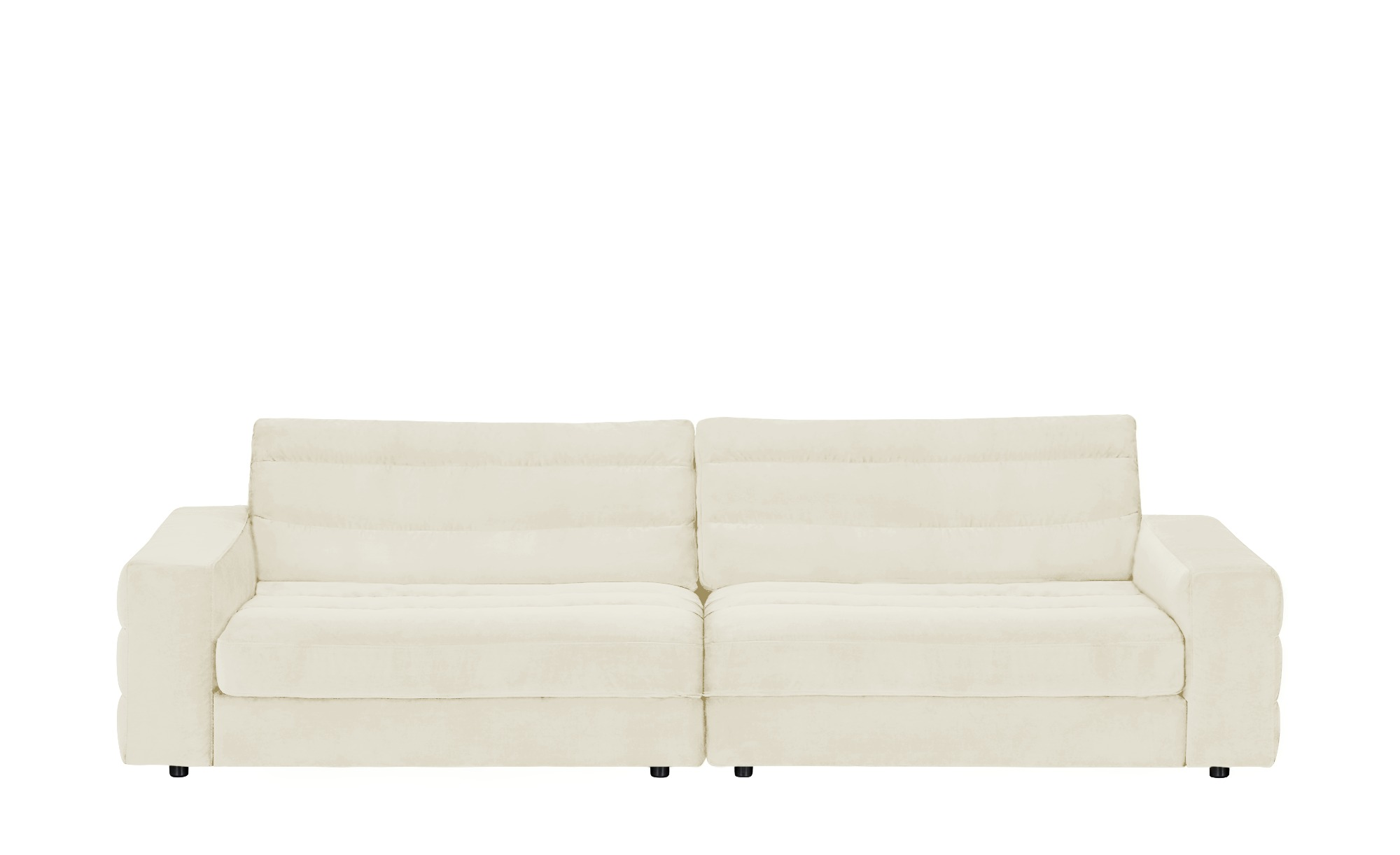 pop Big Sofa  Scarlatti ¦ creme ¦ Maße (cm): B: 296 H: 83 T: 125 Polstermöbel > Sofas > Big-Sofas - Höffner