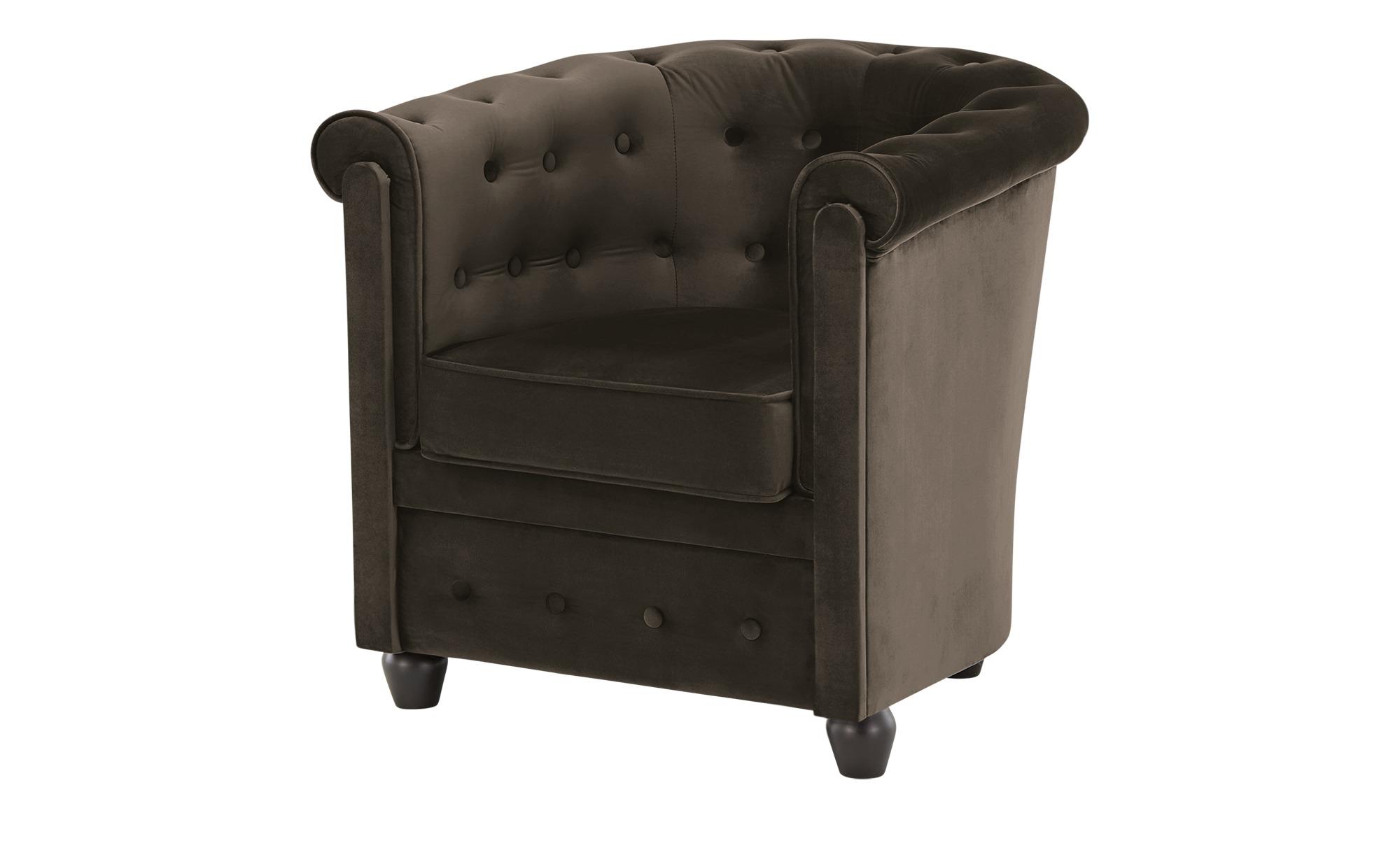 smart Sessel  Chelli Mini ¦ braun ¦ Maße (cm): B: 73 H: 71 T: 76,5 Polstermöbel > Sessel > Polstersessel - Höffner