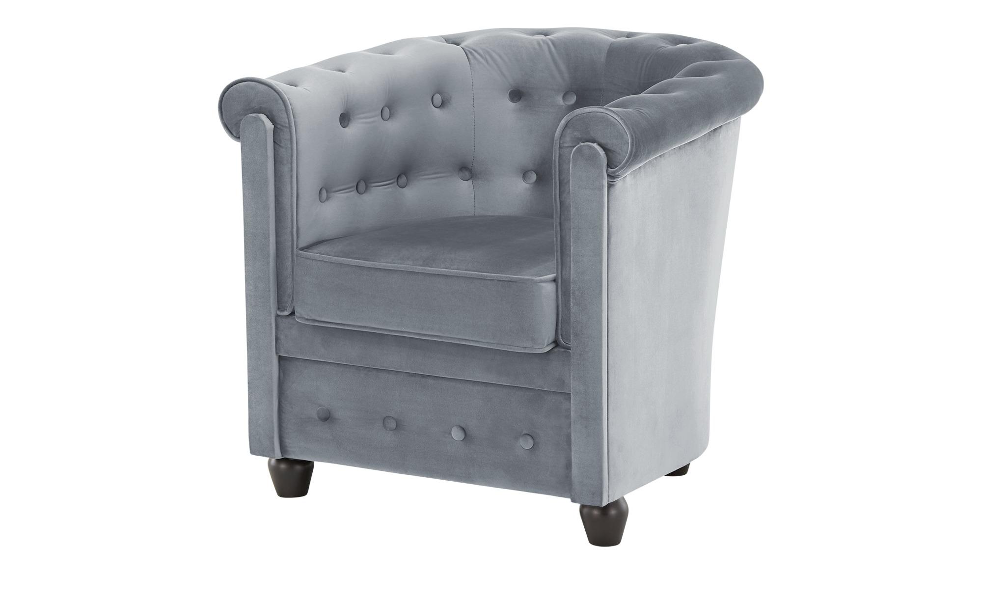 smart Sessel  Chelli Mini ¦ blau ¦ Maße (cm): B: 73 H: 71 T: 76,5 Polstermöbel > Sessel > Polstersessel - Höffner
