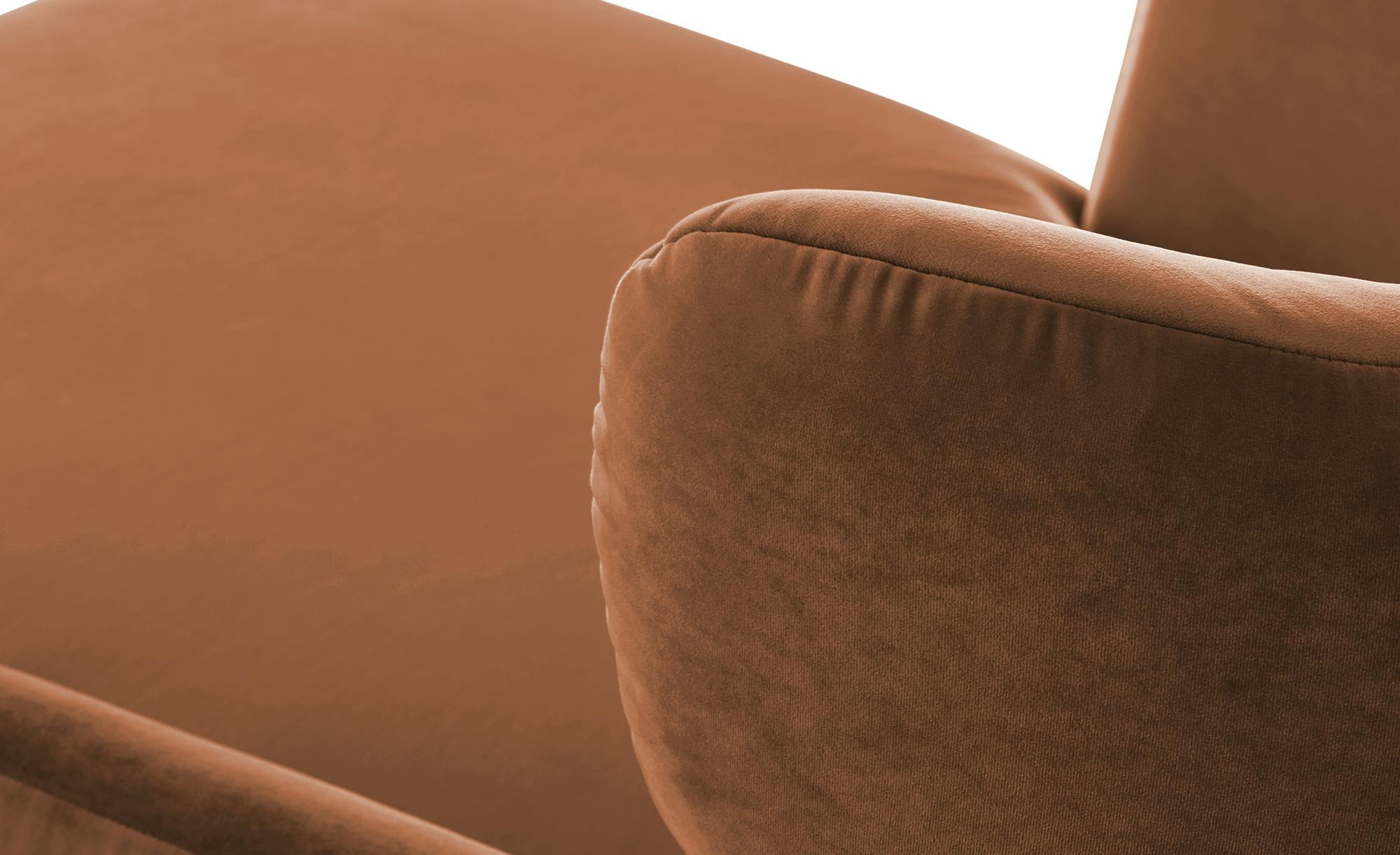 pop Longseat-Sessel  Caldara ¦ braun ¦ Maße (cm): B: 126 H: 94 T: 160 Polstermöbel > Sessel > Ohrensessel - Höffner