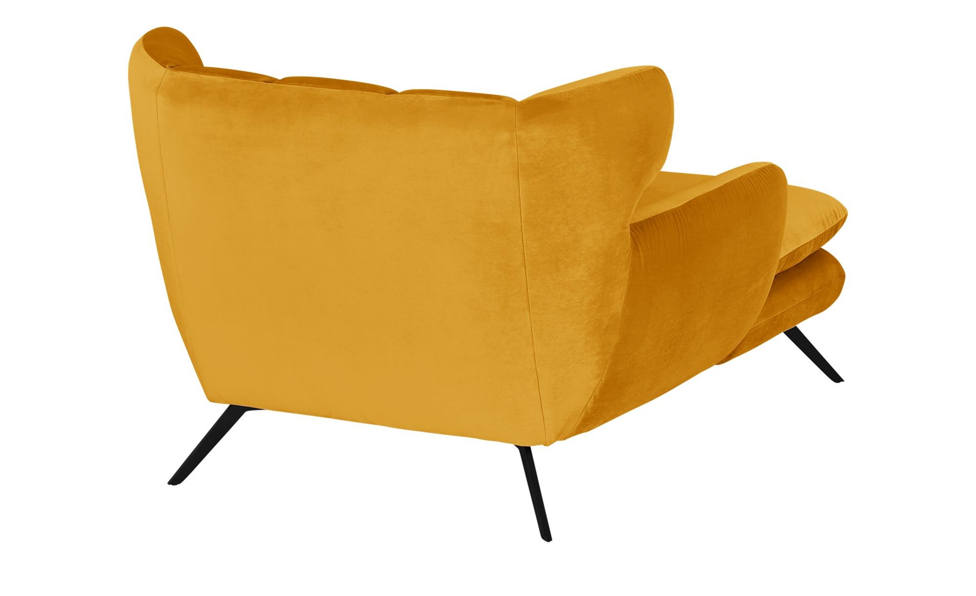 pop Longseat-Sessel  Caldara ¦ gelb ¦ Maße (cm): B: 126 H: 94 T: 160 Polstermöbel > Sessel > Ohrensessel - Höffner