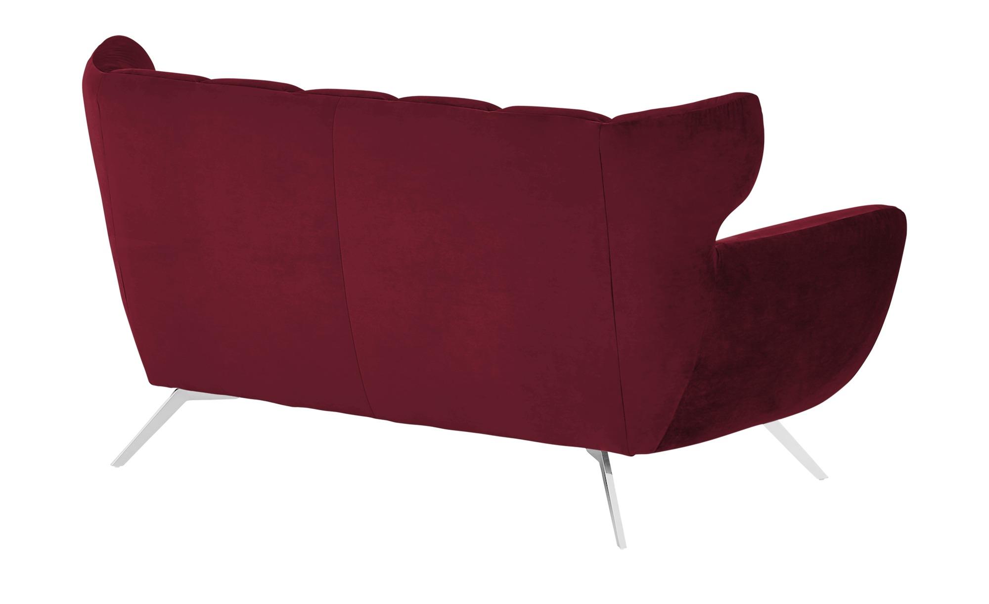 pop Sofa  Caldara ¦ rot ¦ Maße (cm): B: 175 H: 94 T: 95 Polstermöbel > Sofas > 2-Sitzer - Höffner