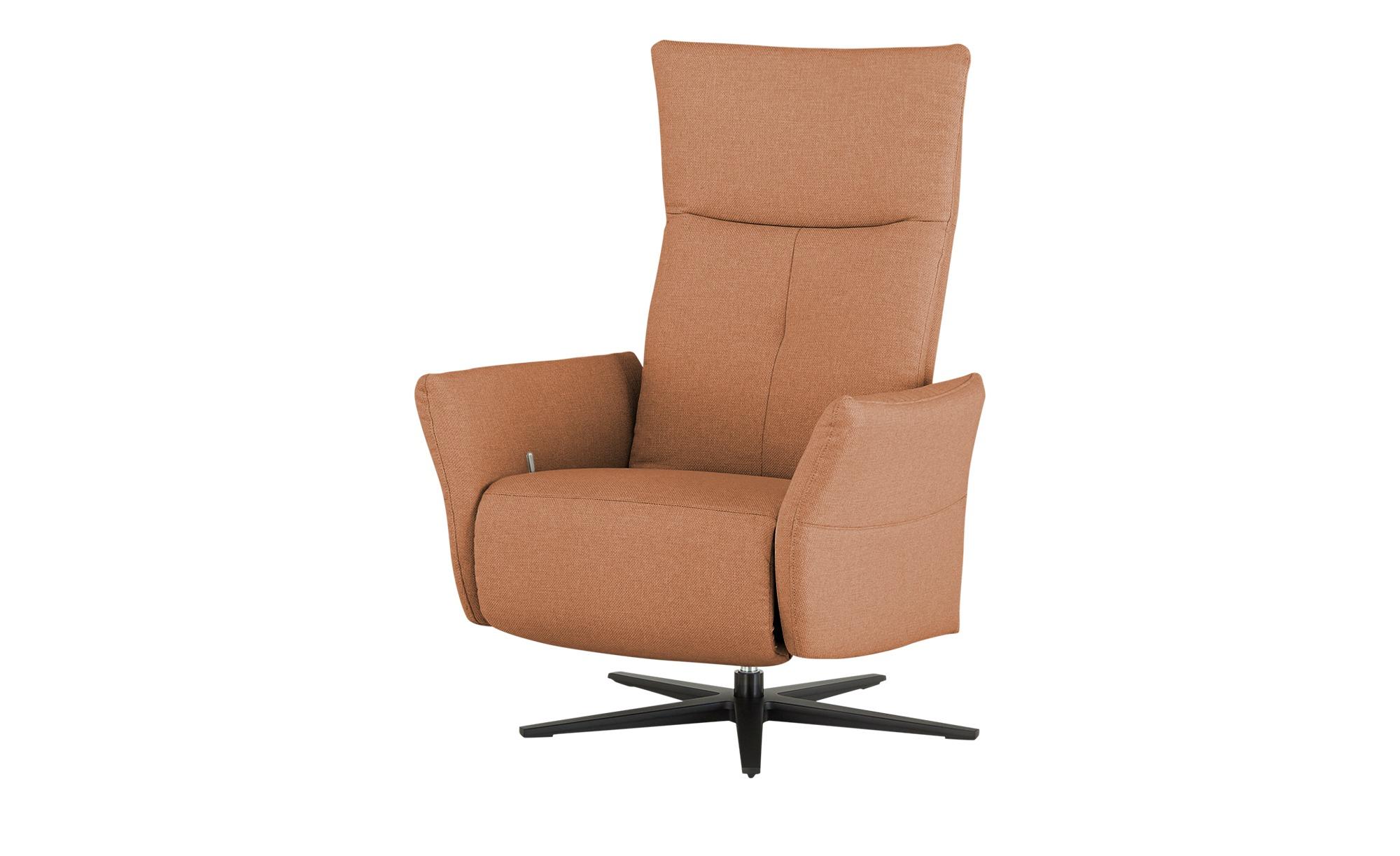Wohnwert Funktionssessel  Katja ¦ orange ¦ Maße (cm): B: 79 H: 110 T: 80 Polstermöbel > Sessel > Drehsessel - Höffner