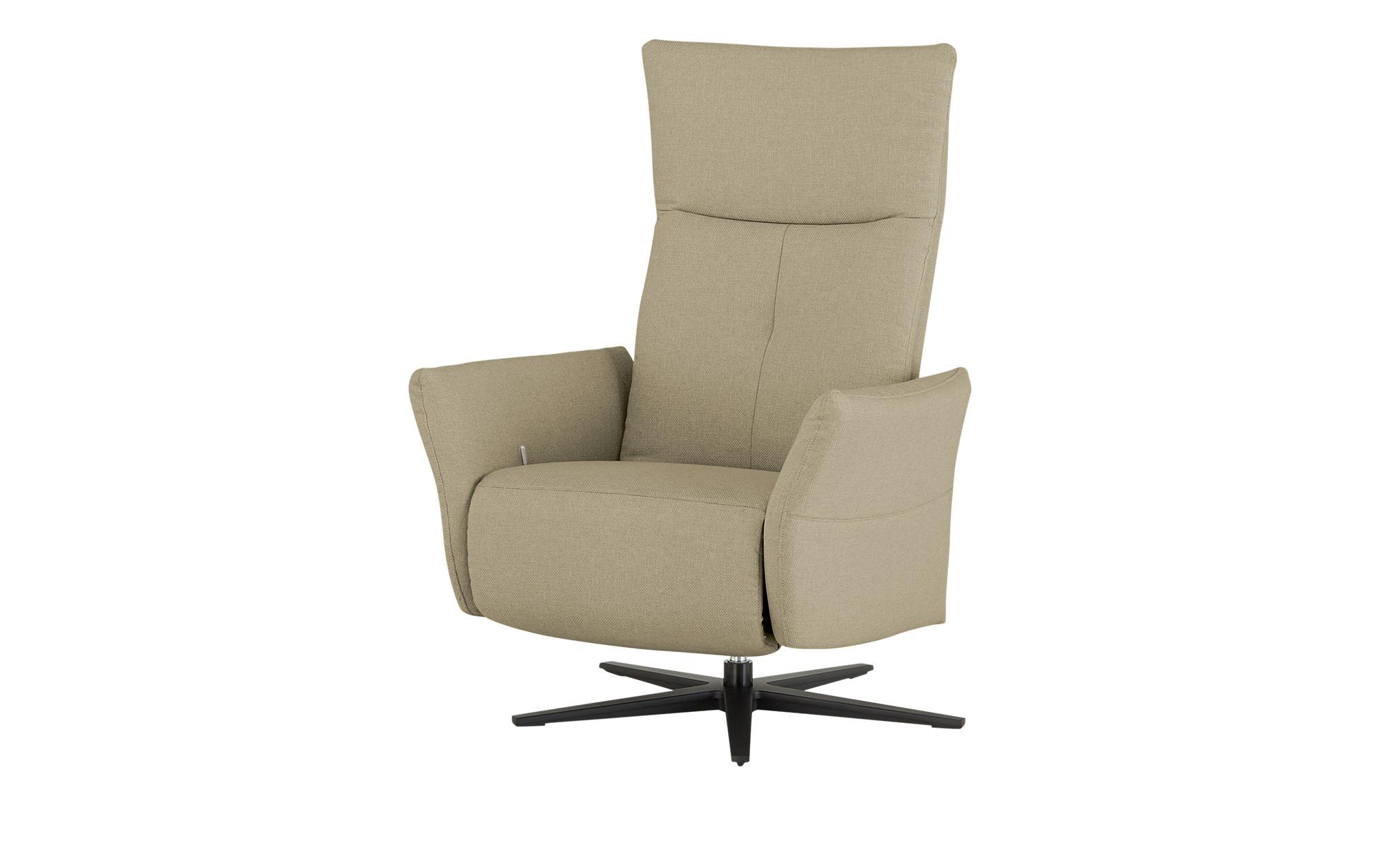 Wohnwert Funktionssessel  Katja ¦ beige ¦ Maße (cm): B: 79 H: 110 T: 80 Polstermöbel > Sessel > Drehsessel - Höffner