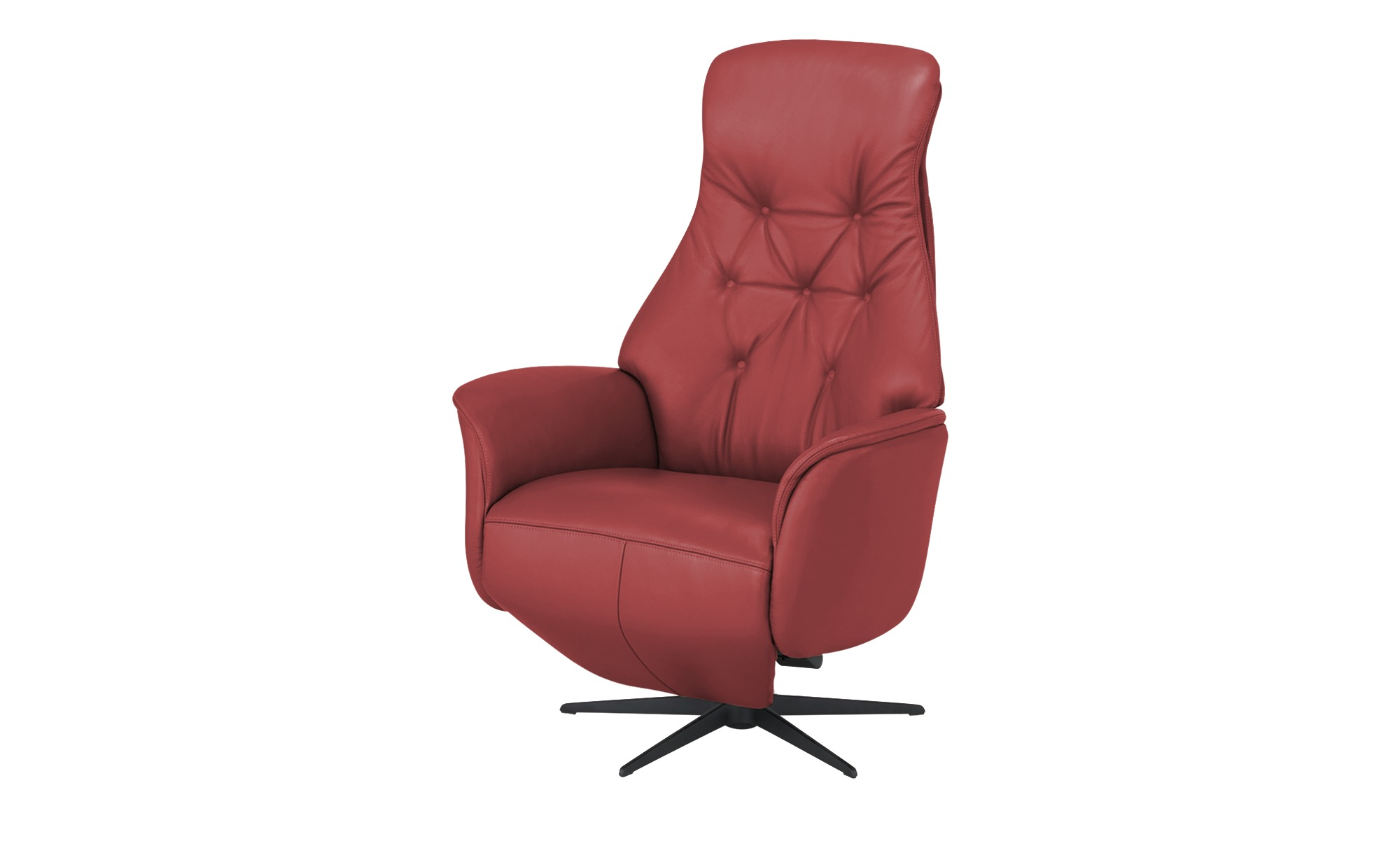 Nils Olsen Funktionssessel  Arend ¦ rot ¦ Maße (cm): B: 71 H: 118 T: 87 Polstermöbel > Sessel > Drehsessel - Höffner