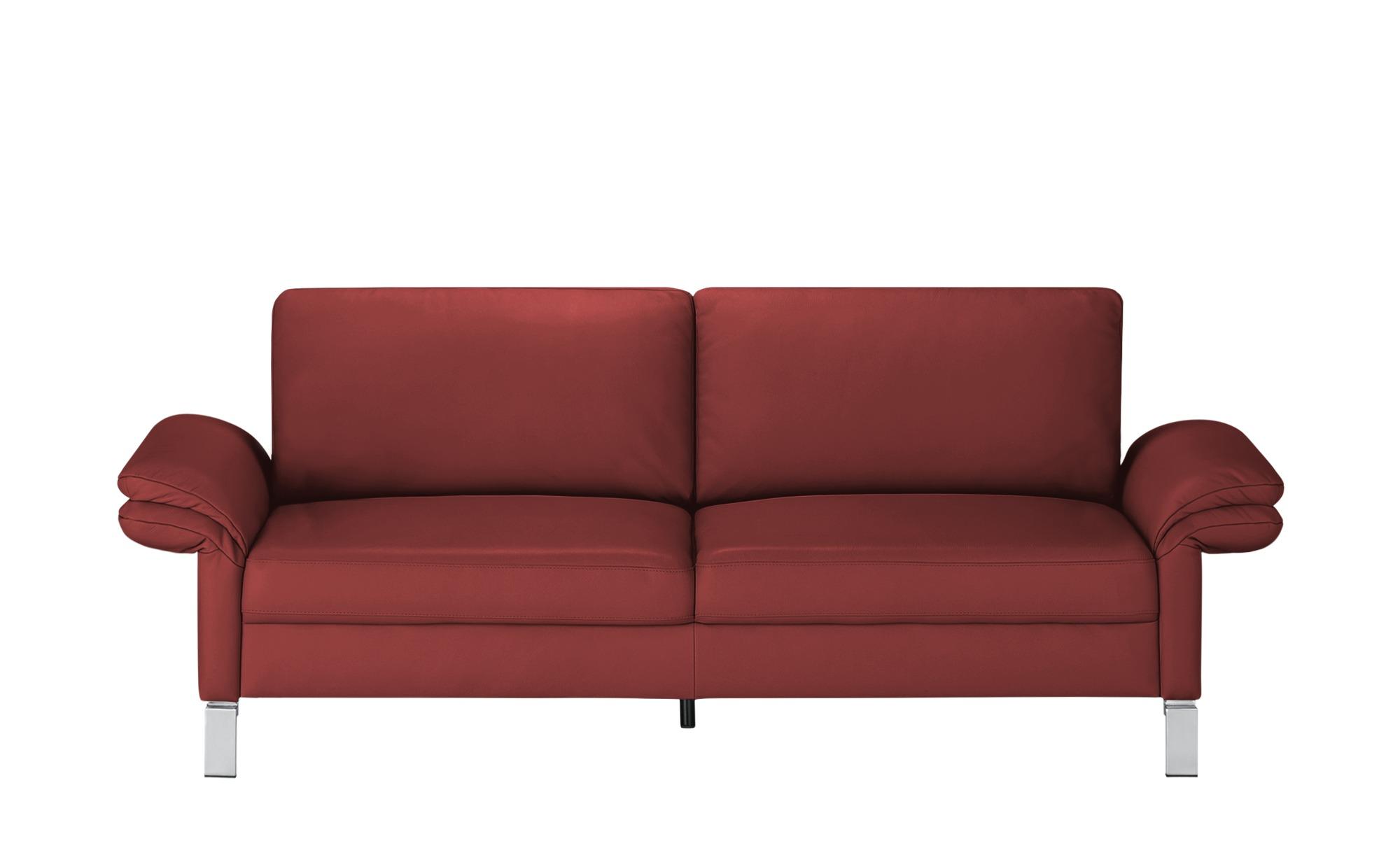 #Max Schelling Einzelsofa  Maximum ¦ rot ¦ Maße (cm): B: 214 H: 86 T: 97 Polstermöbel > Sofas > Einzelsofas – Höffner#