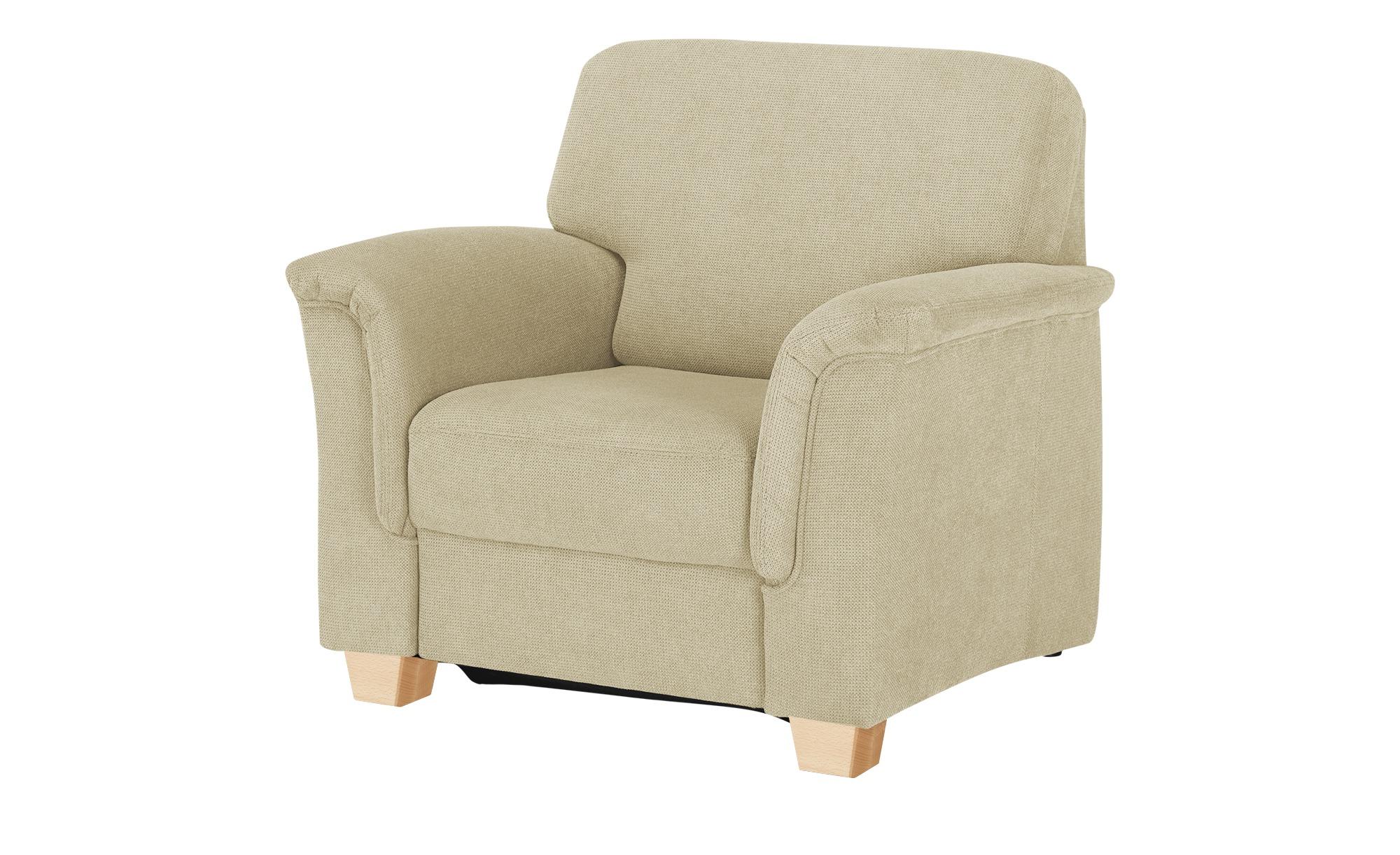 smart Sessel  Valencia ¦ creme ¦ Maße (cm): B: 100 H: 90 T: 93 Polstermöbel > Sessel > Polstersessel - Höffner