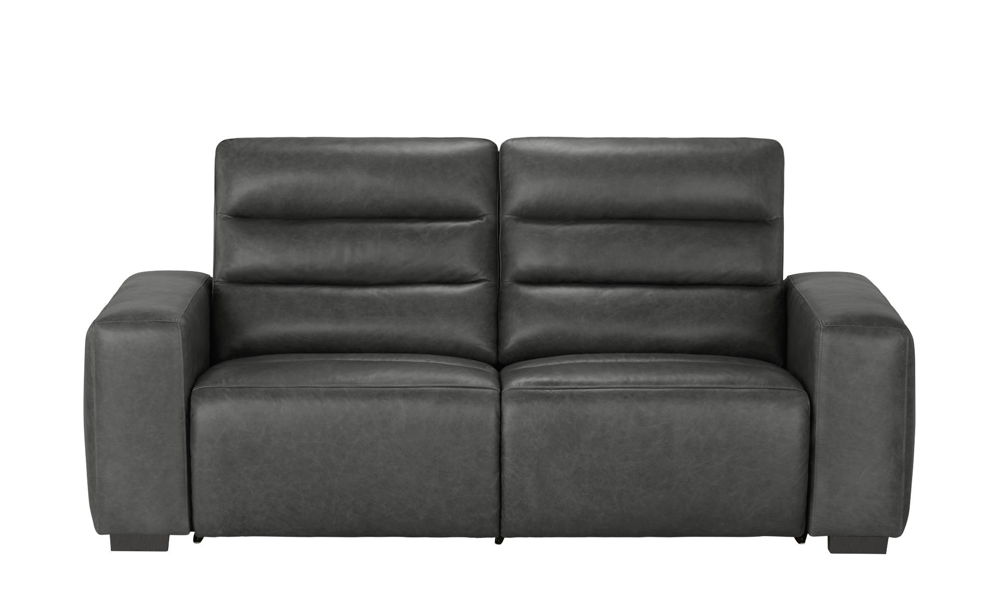 uno Sofa mit Relaxfunktion  Jess ¦ grau ¦ Maße (cm): B: 212 H: 98 T: 94 Polstermöbel > Sofas > Einzelsofas - Höffner