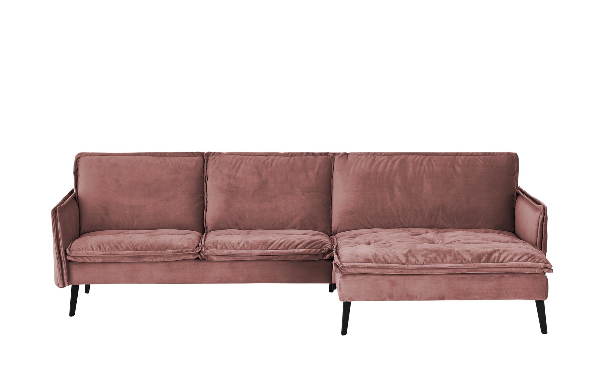 Musterring Ecksofa  Rahel ¦ rosa/pink ¦ Maße (cm): H: 94 Polstermöbel > Sofas > Ecksofas - Höffner