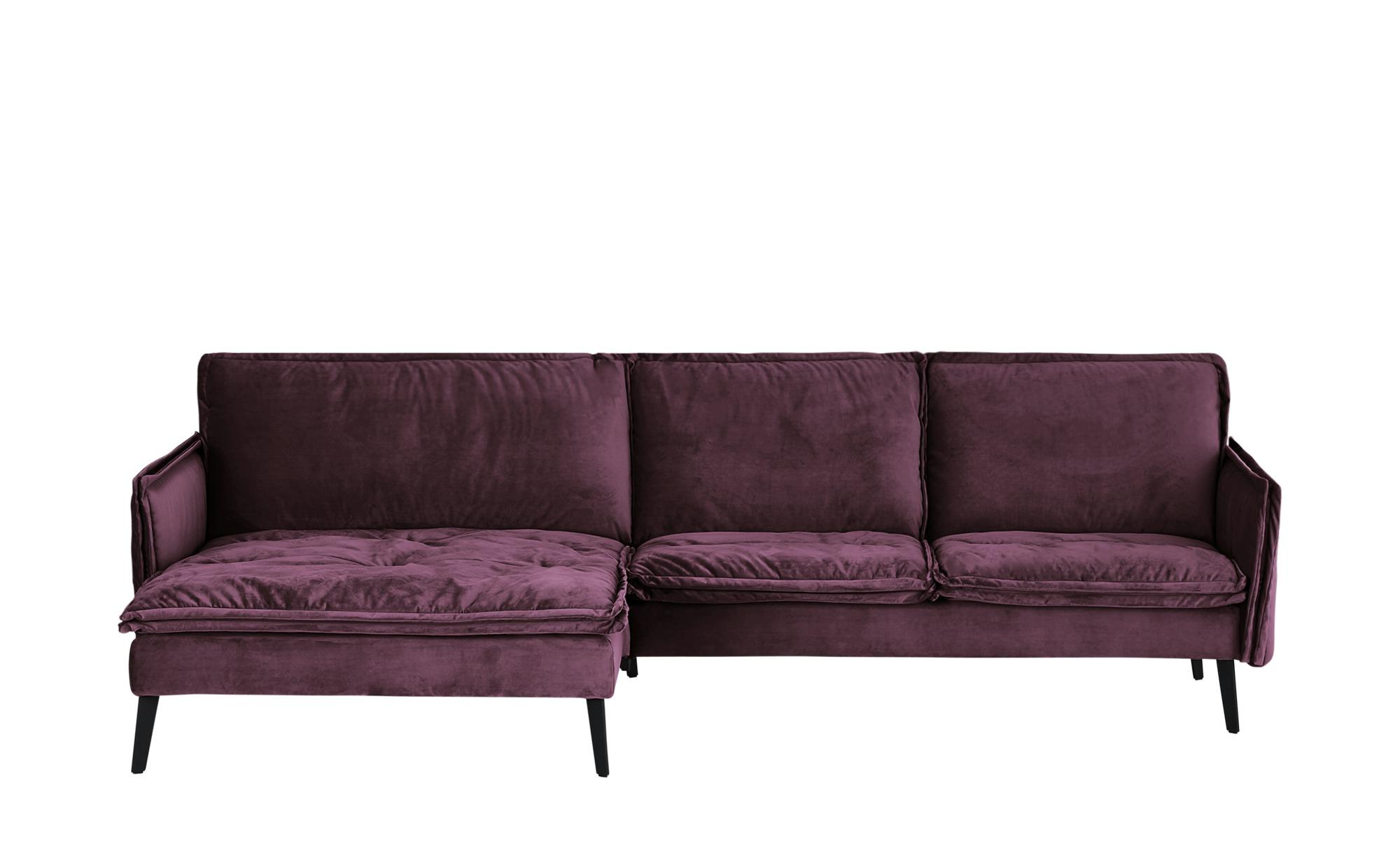 Musterring Ecksofa  Rahel ¦ lila/violett ¦ Maße (cm): H: 94 Polstermöbel > Sofas > Ecksofas - Höffner
