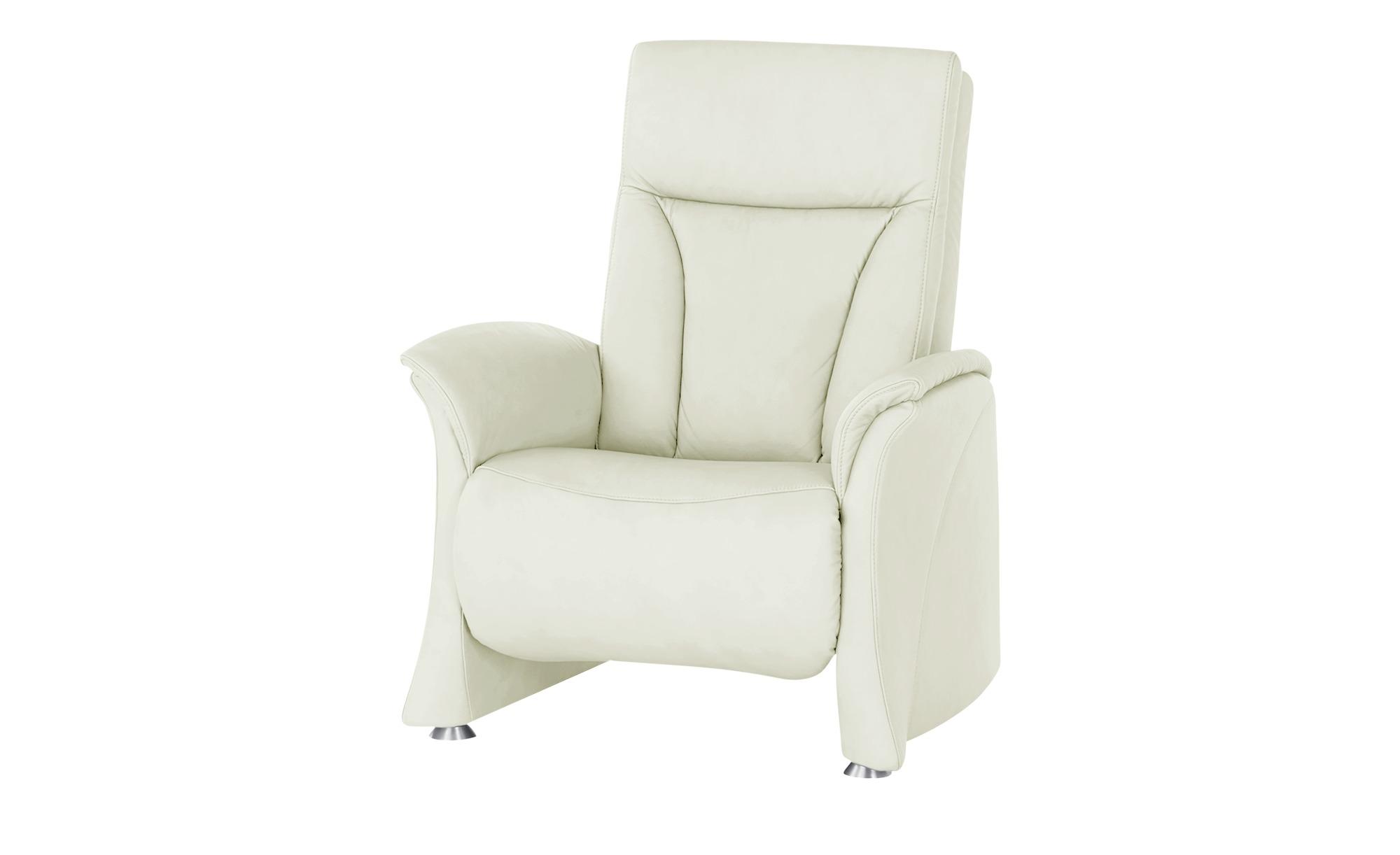 himolla Sessel  4010 ¦ creme ¦ Maße (cm): B: 75 H: 108 T: 88 Polstermöbel > Sessel > Ledersessel - Höffner