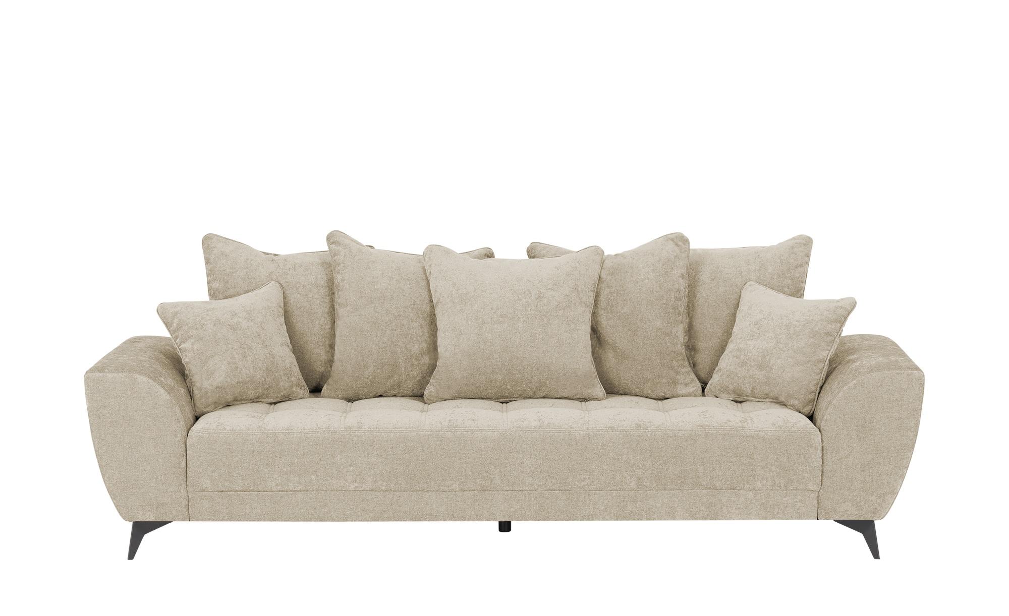 smart Sofa  Bella ¦ beige ¦ Maße (cm): B: 265 H: 95 T: 95 Polstermöbel > Sofas > 3-Sitzer - Höffner