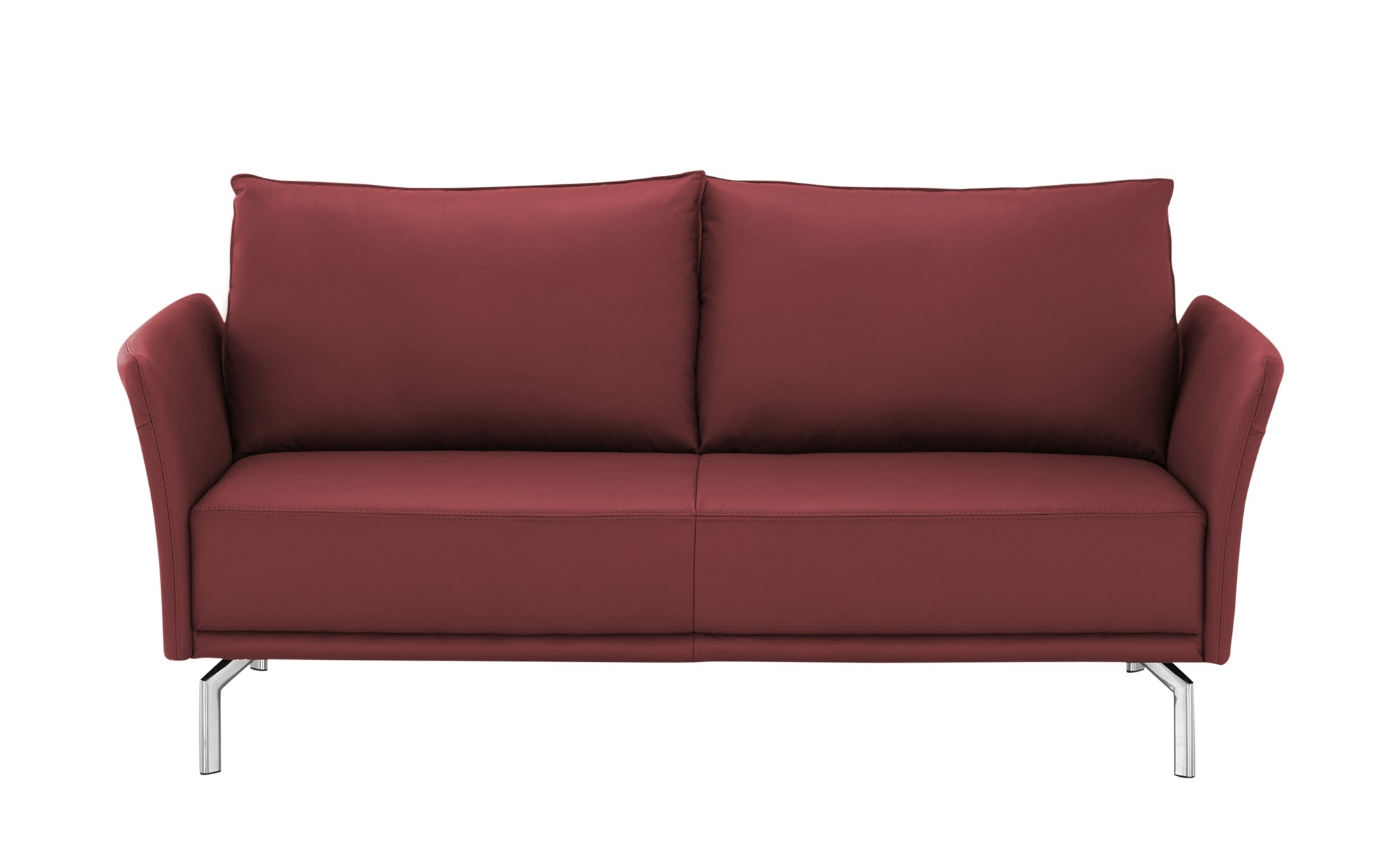 SOHO Sofa  Yamila ¦ rot ¦ Maße (cm): B: 192 H: 90 T: 89 Polstermöbel > Sofas > 3-Sitzer - Höffner