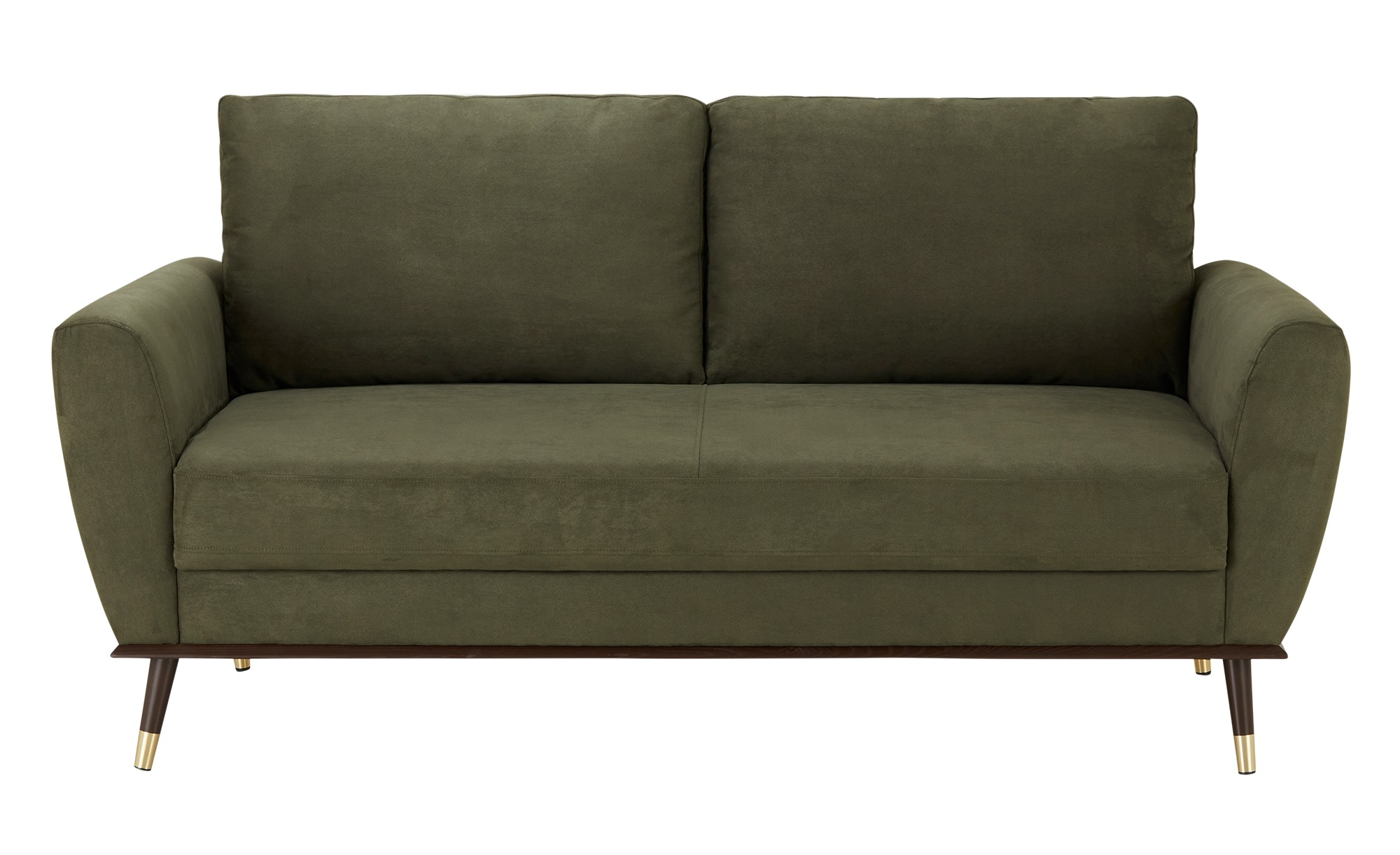 Sofa  Johanna ¦ grün ¦ Maße (cm): B: 168 H: 72 T: 87 Polstermöbel > Sofas > Einzelsofas - Höffner