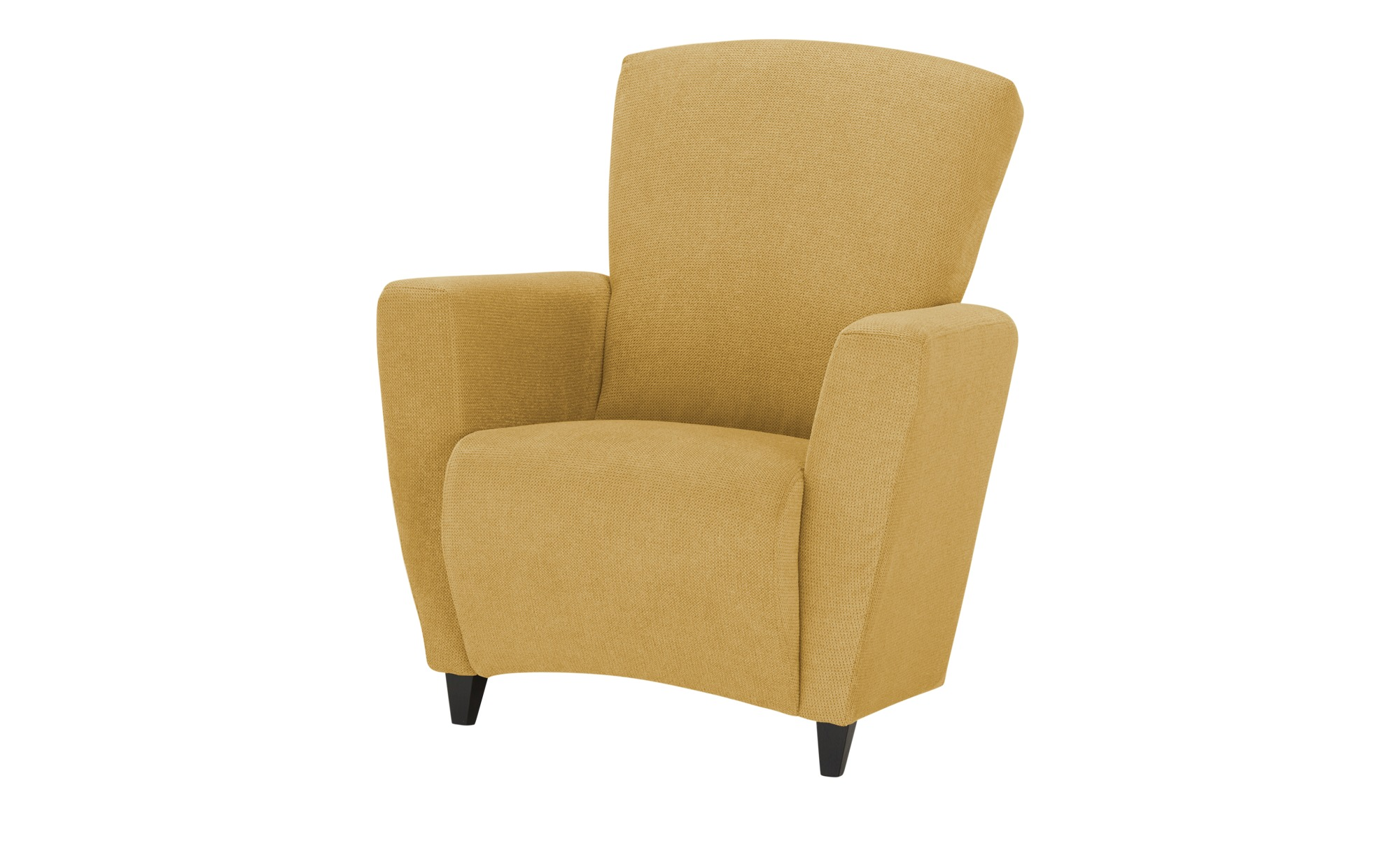smart Sessel  Alma ¦ gelb ¦ Maße (cm): B: 84 H: 94 T: 80 Polstermöbel > Sessel > Polstersessel - Höffner