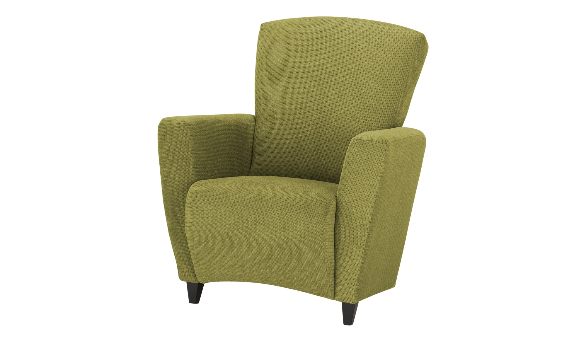 smart Sessel  Alma ¦ grün ¦ Maße (cm): B: 84 H: 94 T: 80 Polstermöbel > Sessel > Polstersessel - Höffner