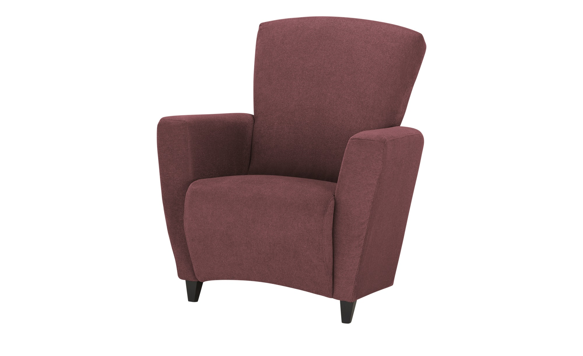 smart Sessel  Alma ¦ rot ¦ Maße (cm): B: 84 H: 94 T: 80 Polstermöbel > Sessel > Polstersessel - Höffner