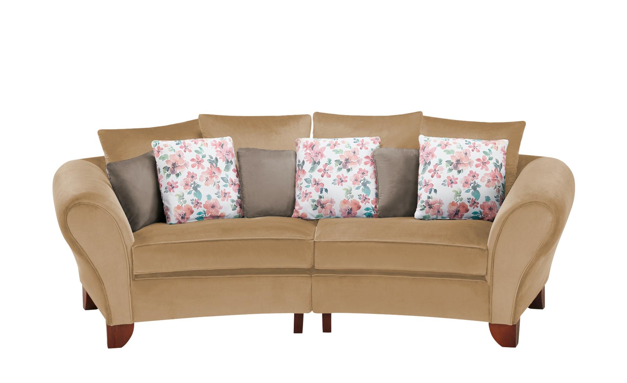 smart Big Sofa  Nadja ¦ beige ¦ Maße (cm): B: 277 H: 95 T: 108 Polstermöbel > Sofas > 3-Sitzer - Höffner