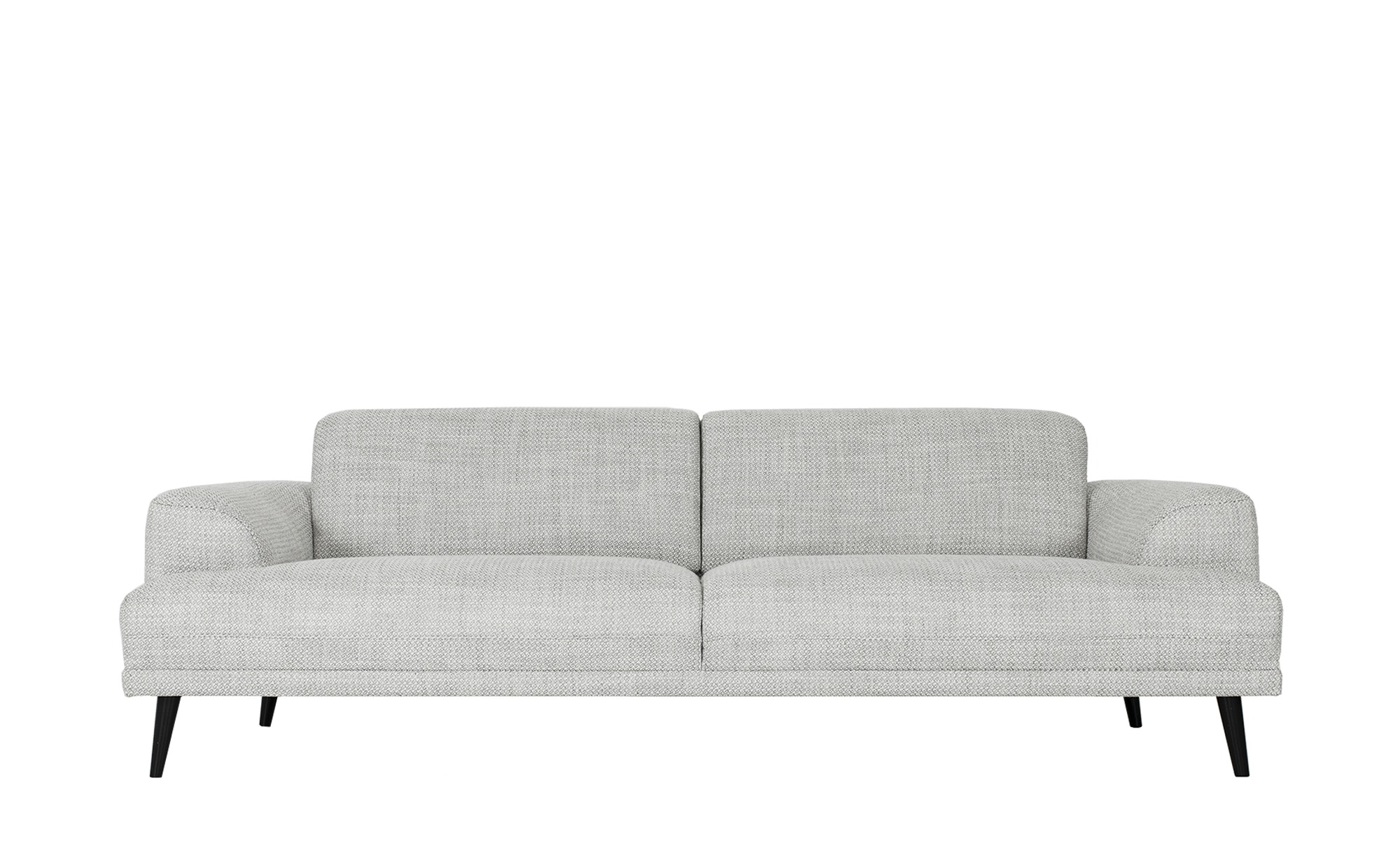 Sofa  Nevi ¦ grau ¦ Maße (cm): B: 234 H: 78,5 T: 93 Polstermöbel > Sofas > 3-Sitzer - Höffner