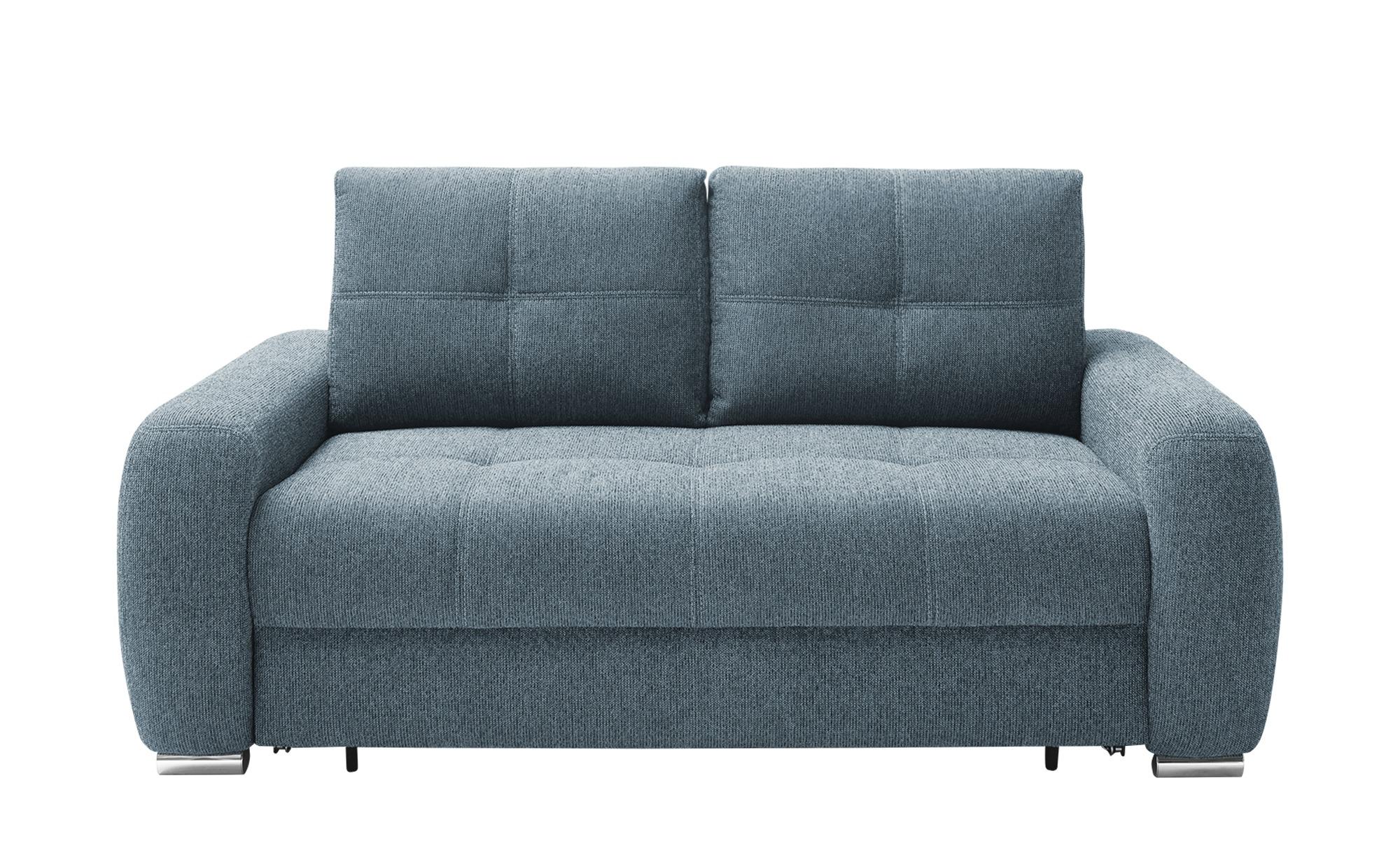 bobb Schlafsofa  Romina de Luxe ¦ blau ¦ Maße (cm): B: 188 H: 93 T: 108 Polstermöbel > Sofas > Einzelsofas - Höffner