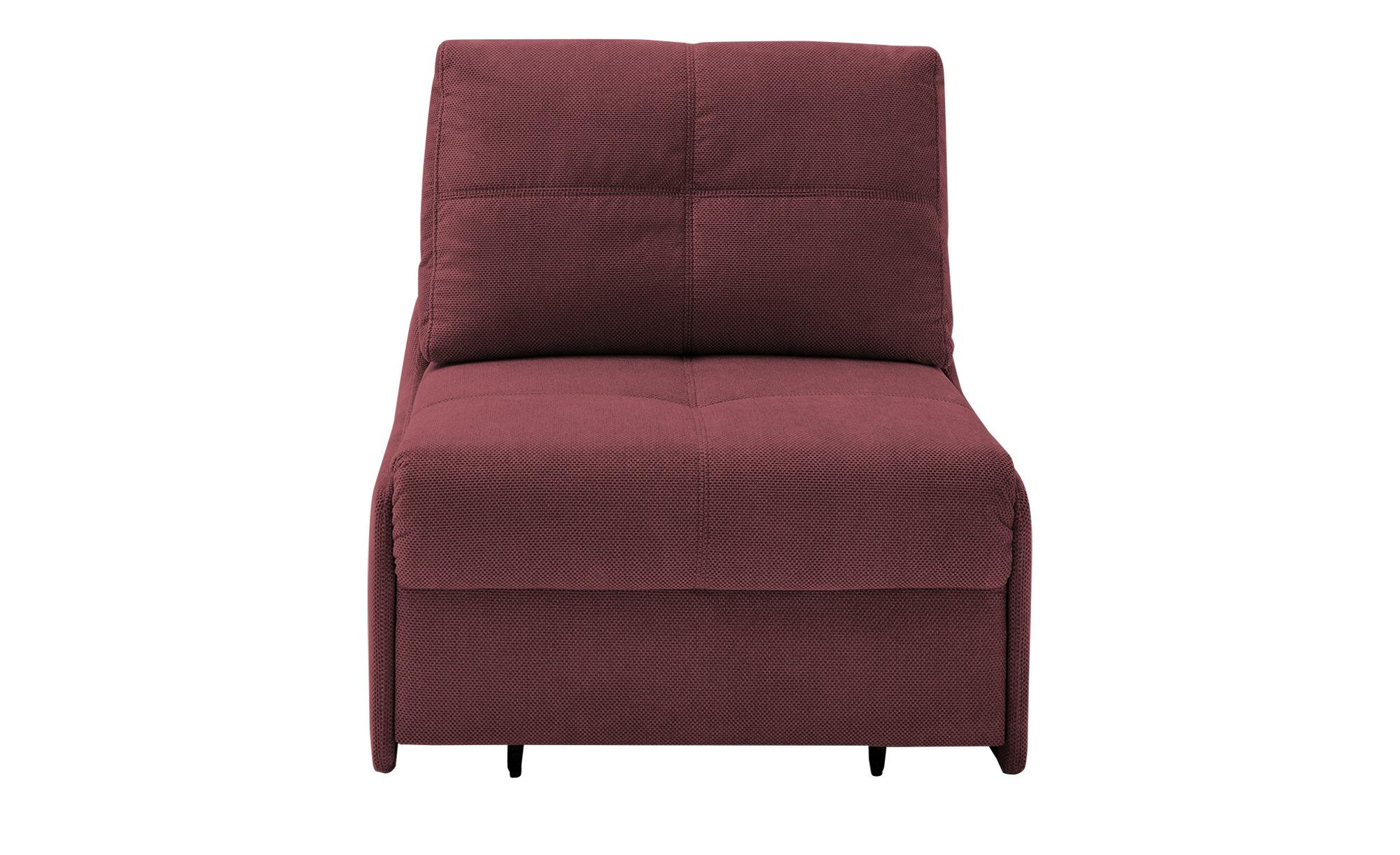 bobb Schlafsessel  Romina de Luxe ¦ rot ¦ Maße (cm): B: 88 H: 92 T: 103 Polstermöbel > Sofas > Einzelsofas - Höffner