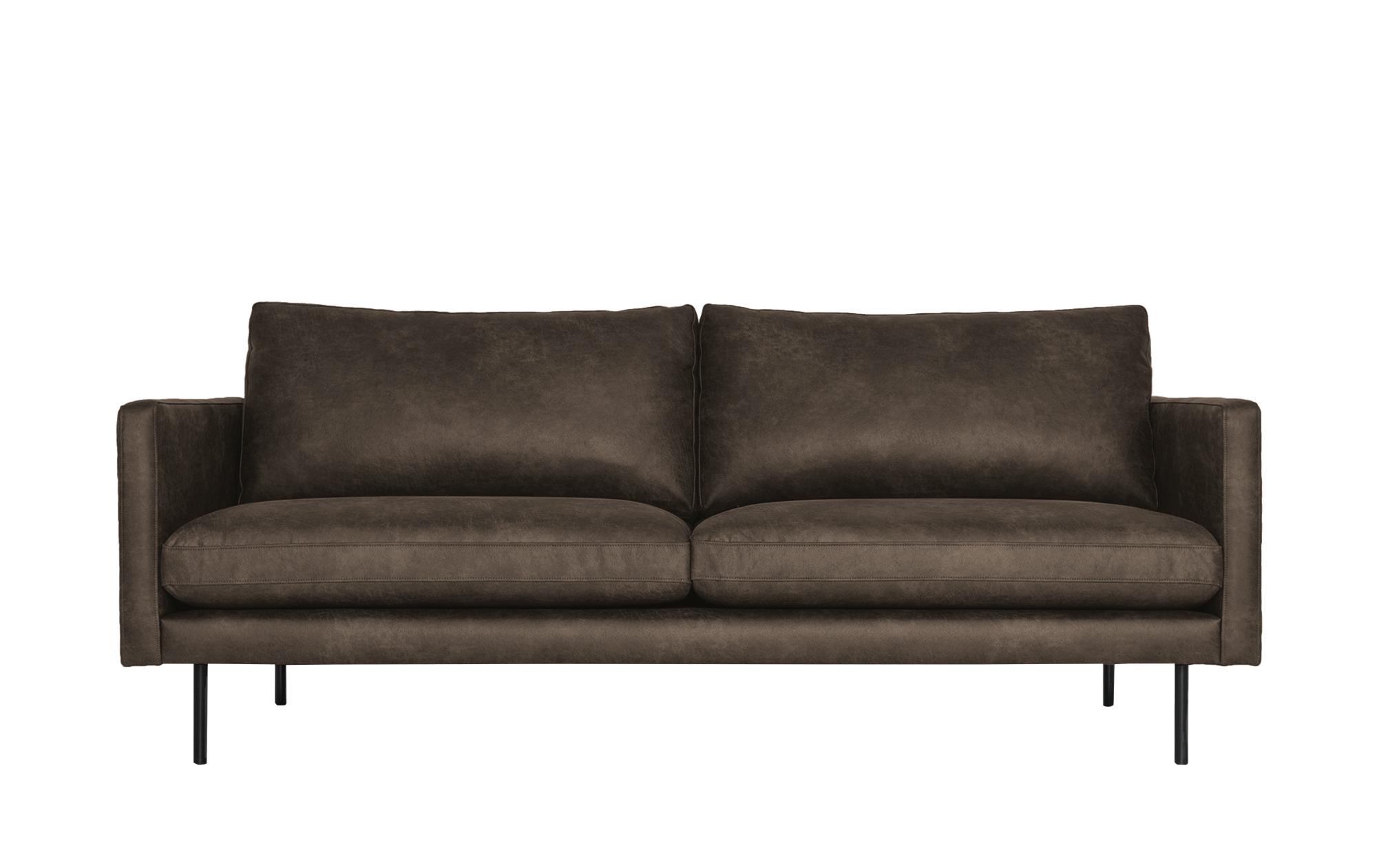 Sofa, 3-sitzig  Sibella ¦ braun ¦ Maße (cm): B: 196 H: 82 T: 94 Polstermöbel > Sofas > Einzelsofas - Höffner