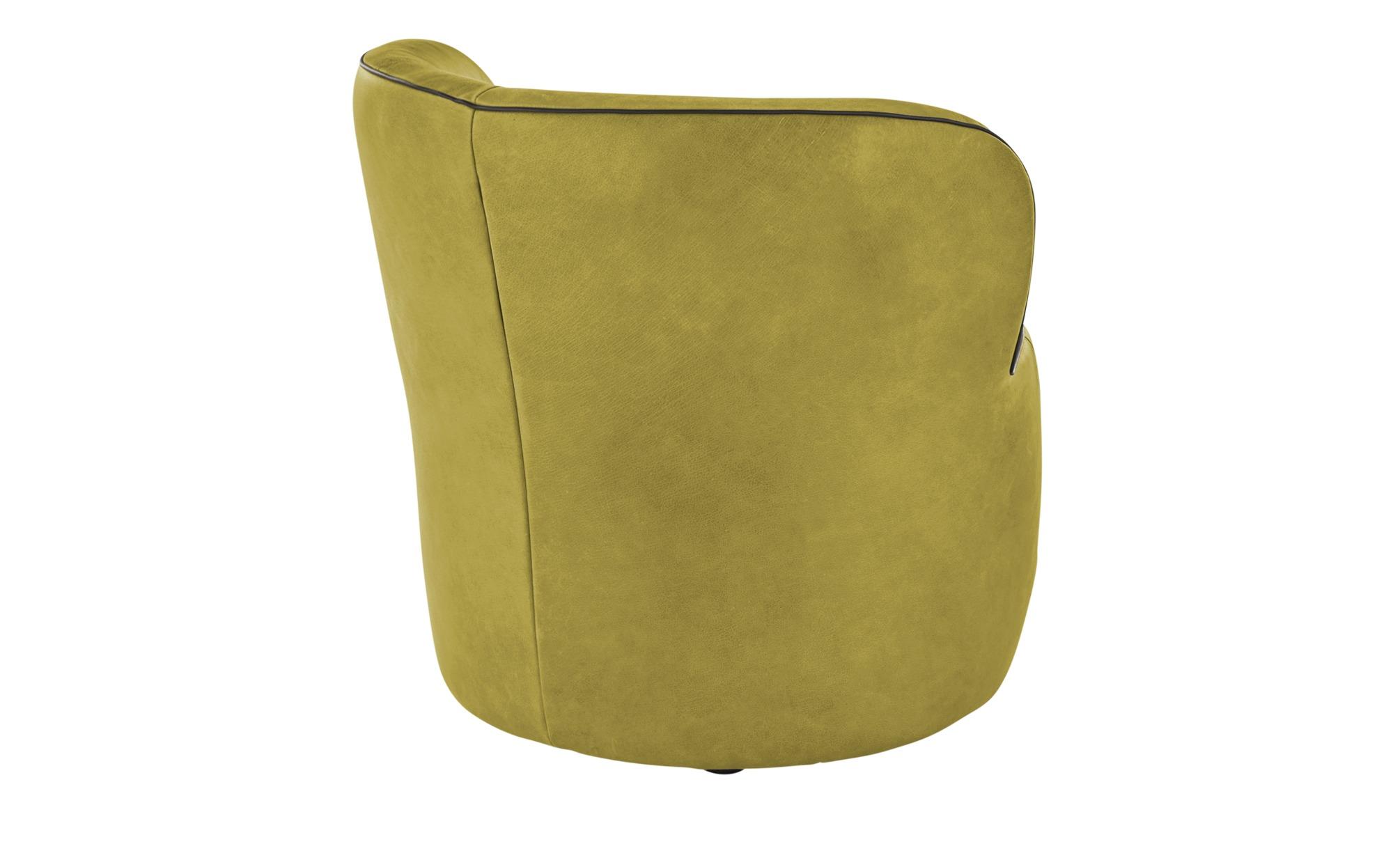 KOINOR Sessel  Igor ¦ grün ¦ Maße (cm): B: 73 H: 70 T: 72 Polstermöbel > Sessel > Ledersessel - Höffner
