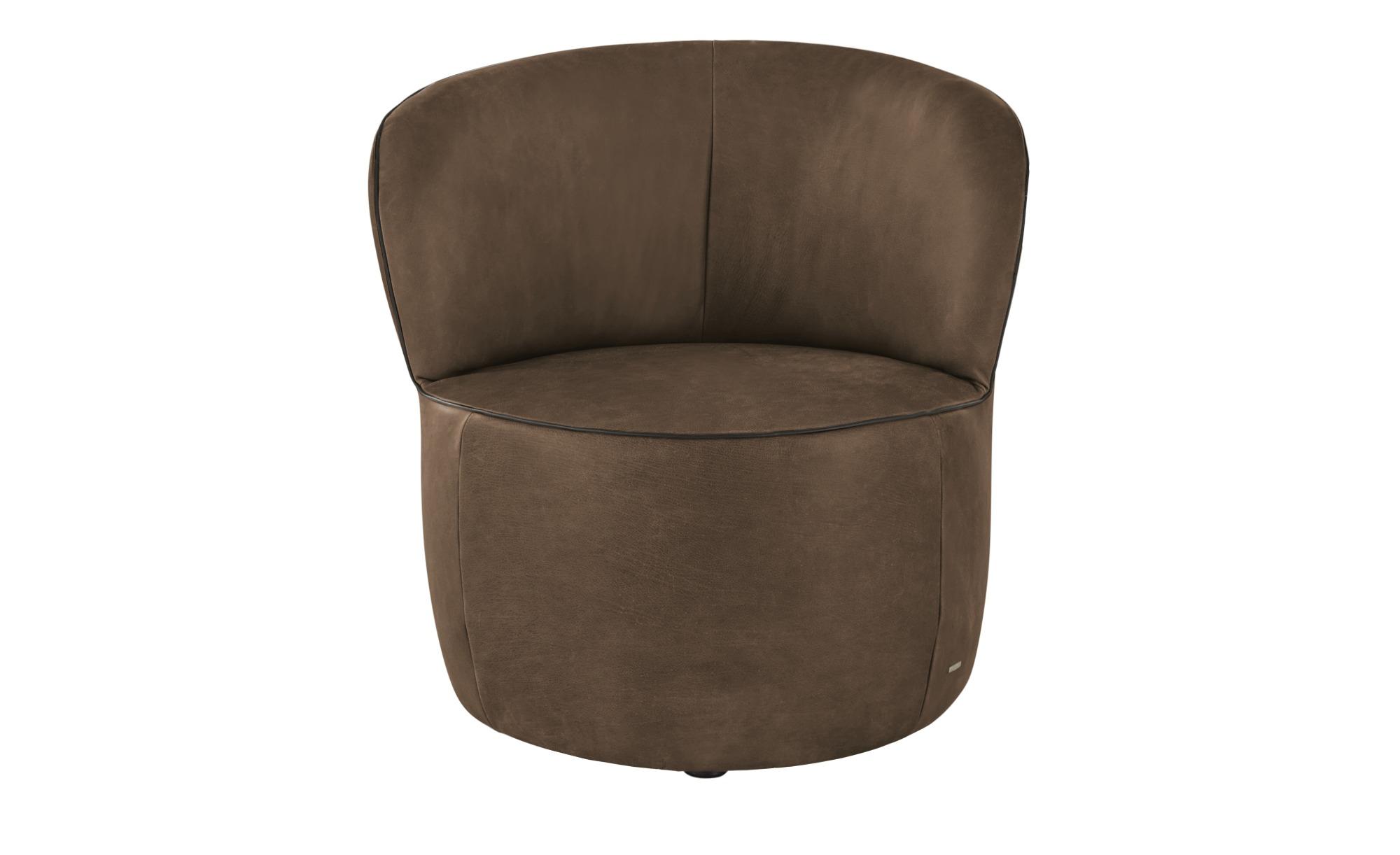 KOINOR Sessel  Igor ¦ braun ¦ Maße (cm): B: 73 H: 70 T: 72 Polstermöbel > Sessel > Ledersessel - Höffner