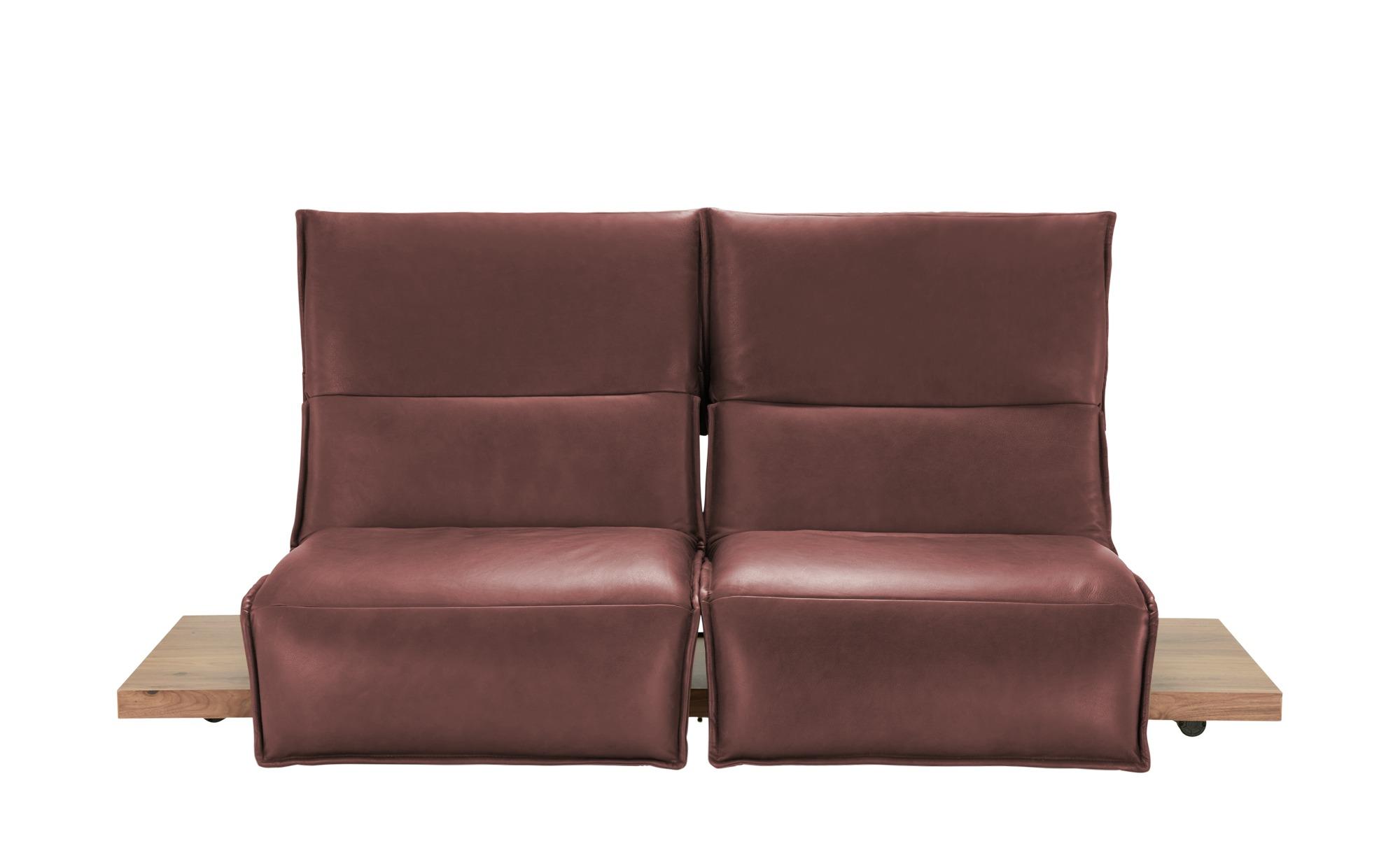 KOINOR Einzelsofa  Edit 2 ¦ rot ¦ Maße (cm): B: 240 H: 112 T: 158 Polstermöbel > Sofas > 2-Sitzer - Höffner