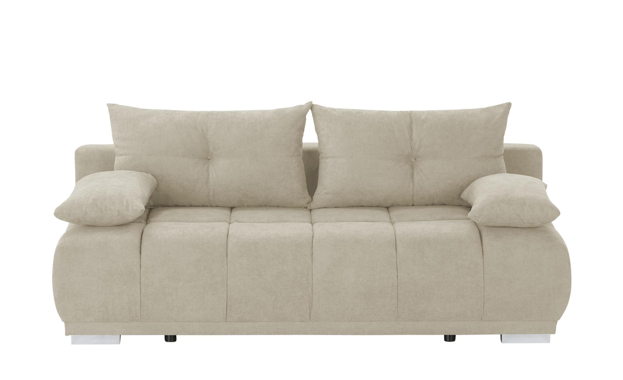 switch Schlafsofa  Gala ¦ beige ¦ Maße (cm): B: 208 H: 92 T: 102 Polstermöbel > Sofas > 2-Sitzer - Höffner
