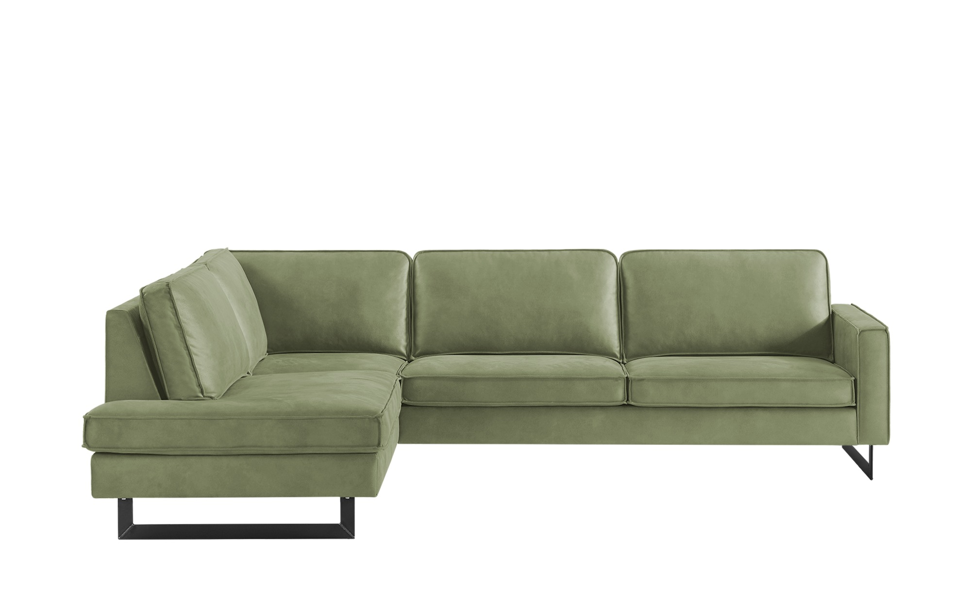 Ecksofa  Pippa ¦ grün ¦ Maße (cm): H: 85 Polstermöbel > Sofas > Ecksofas - Höffner