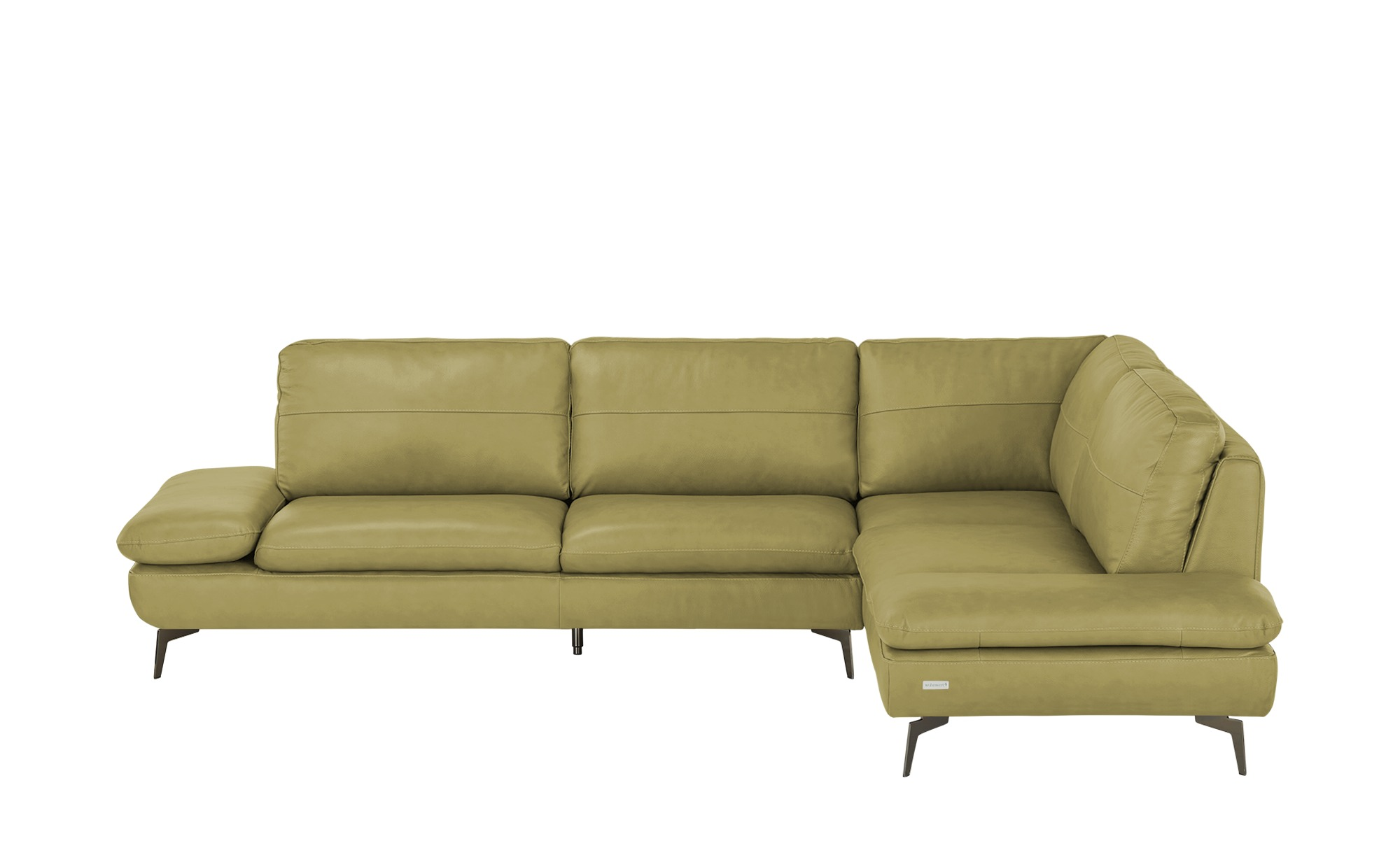 Wohnwert Ecksofa  Amarena ¦ grün ¦ Maße (cm): B: 292 H: 84 T: 210 Polstermöbel > Sofas > Ecksofas - Höffner